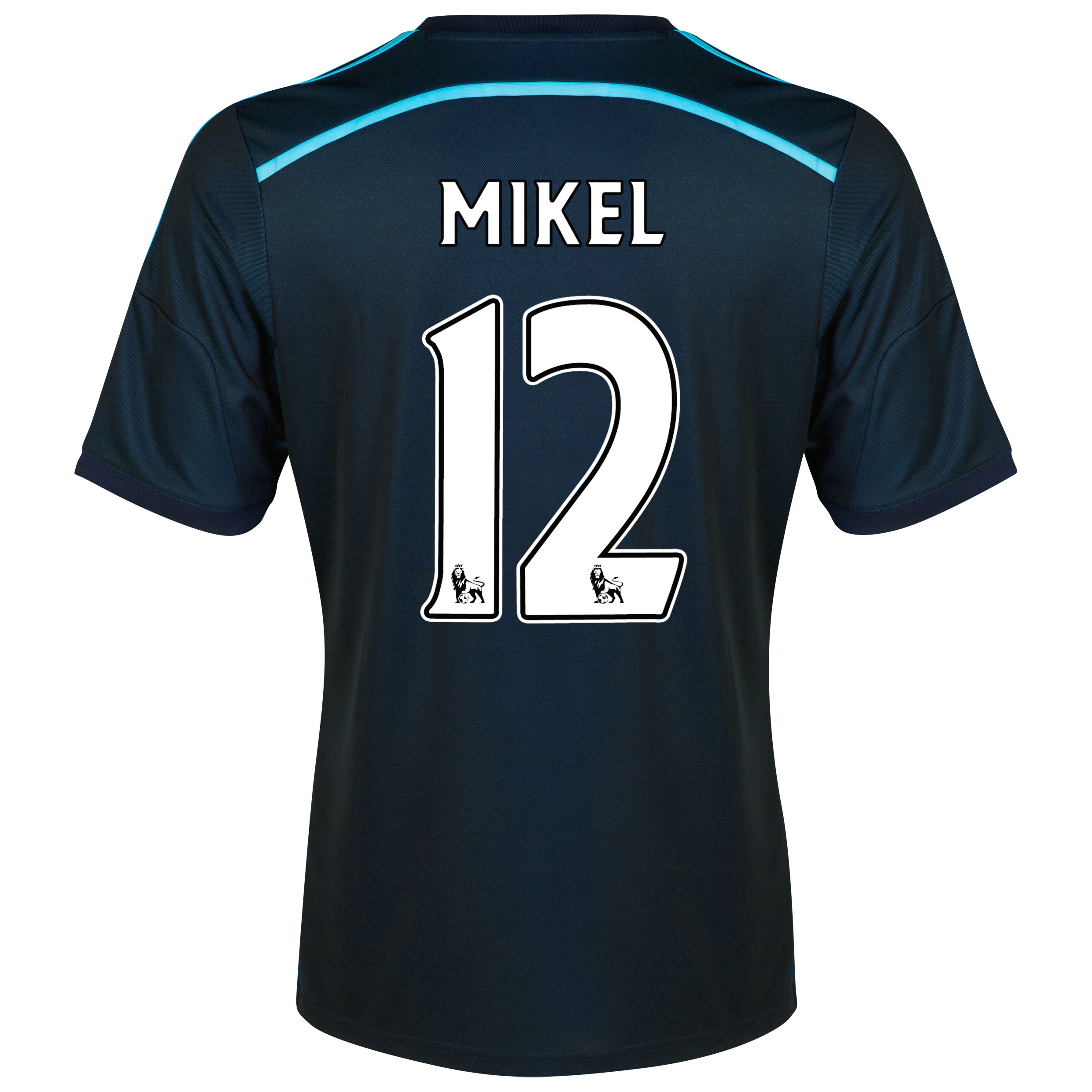 Chelsea Third Shirt 2014/15 with Mikel 12 printing