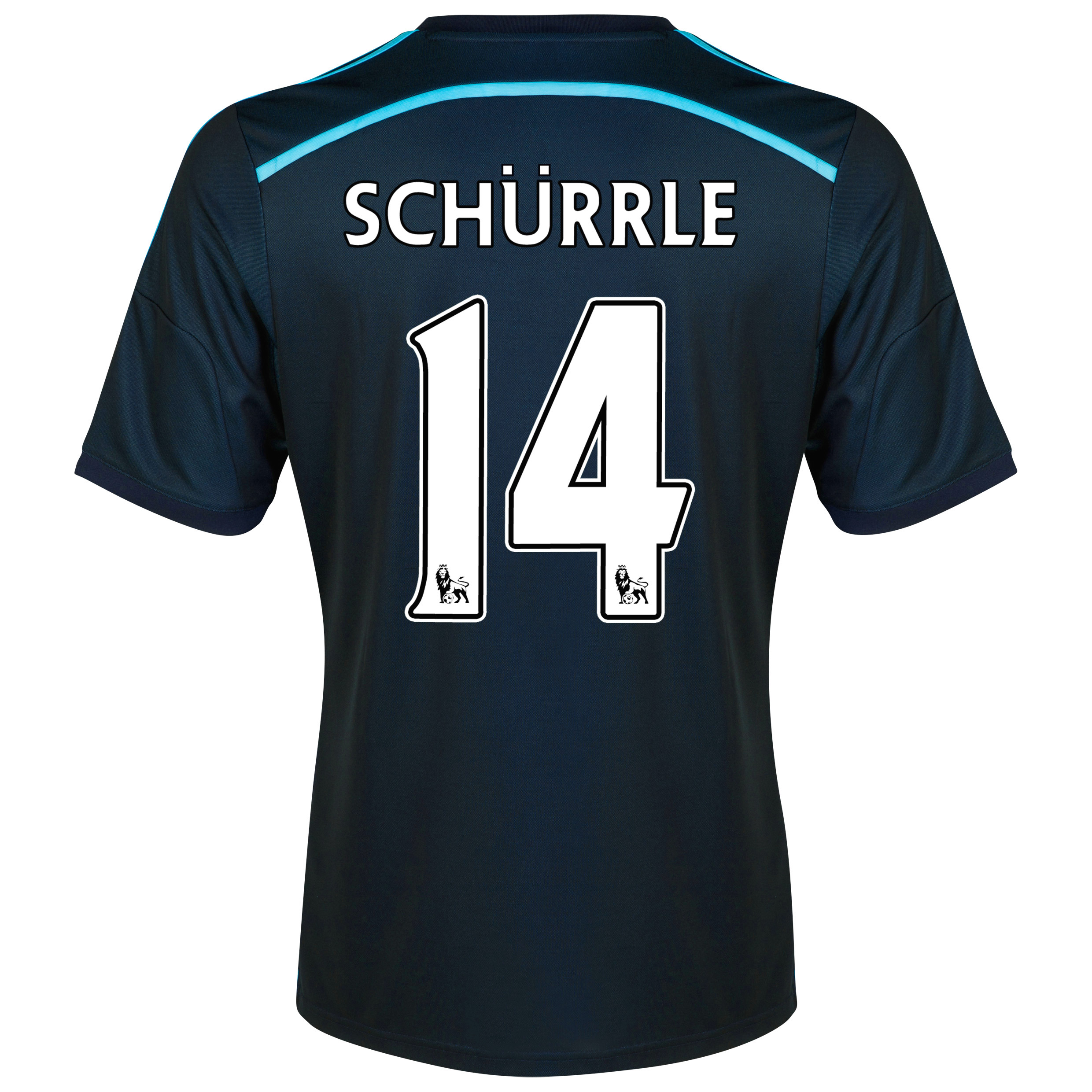 Chelsea Third Shirt 2014/15 with Schurrle 14 printing