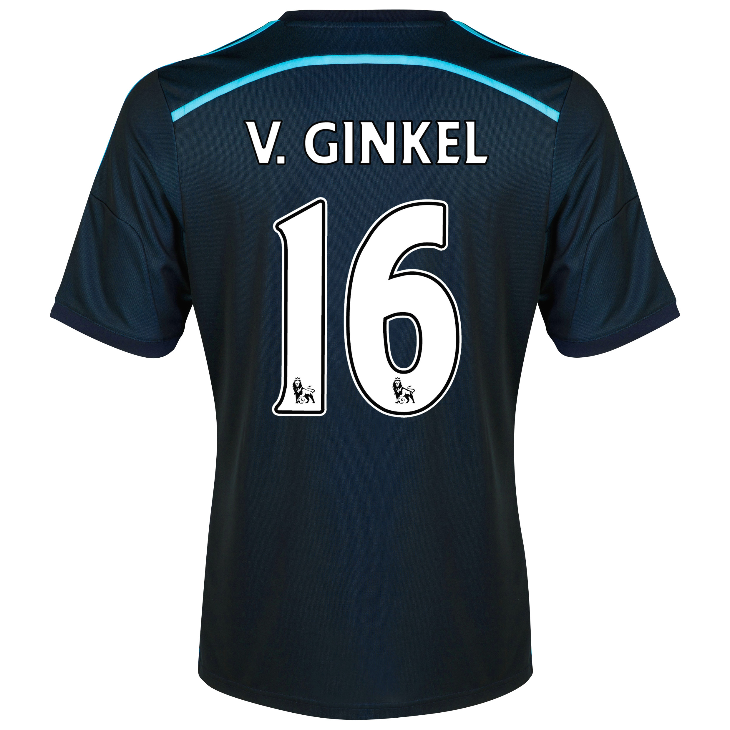 Chelsea Third Shirt 2014/15 with v.Ginkel 16 printing