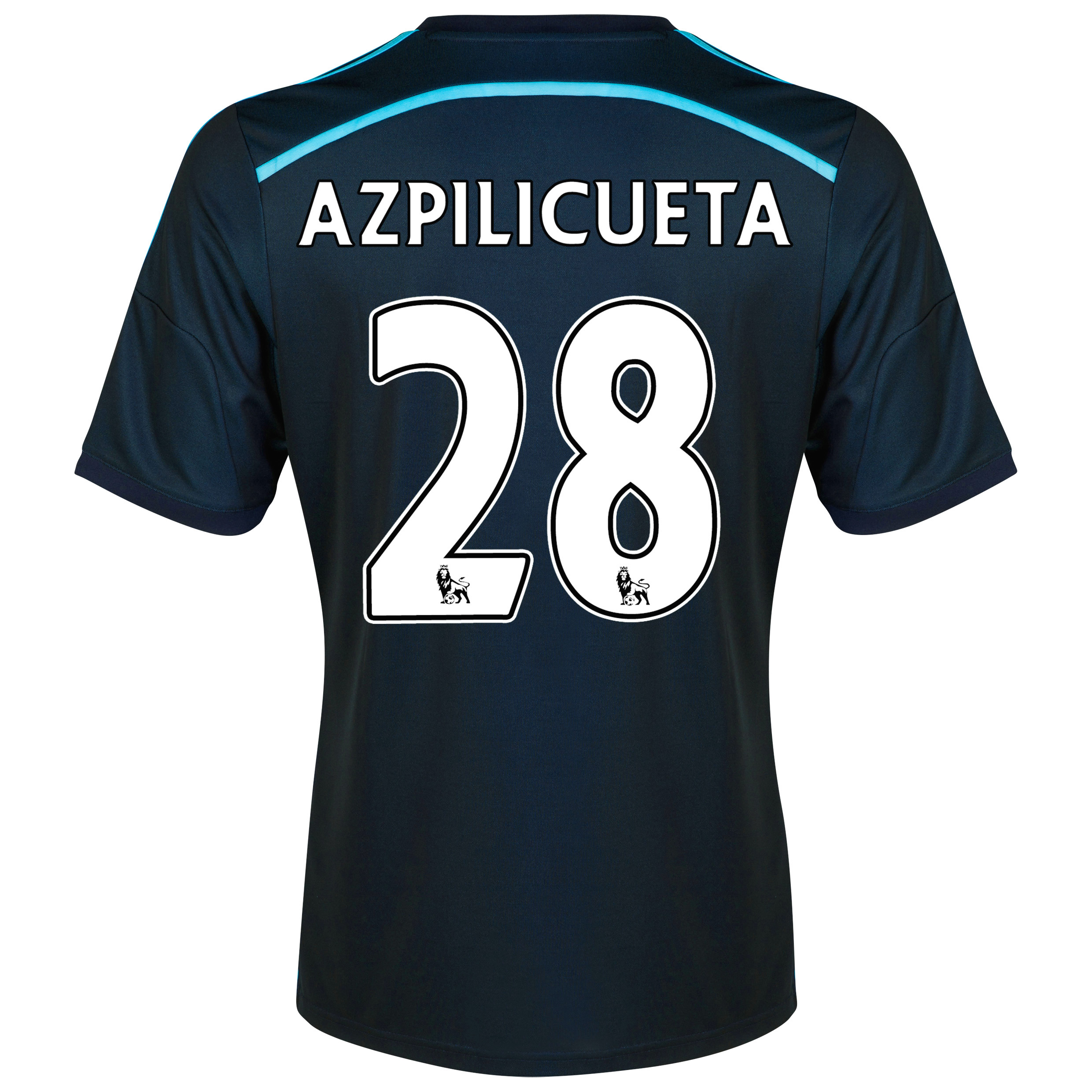 Chelsea Third Shirt 2014/15 with Azpilicueta 28 printing
