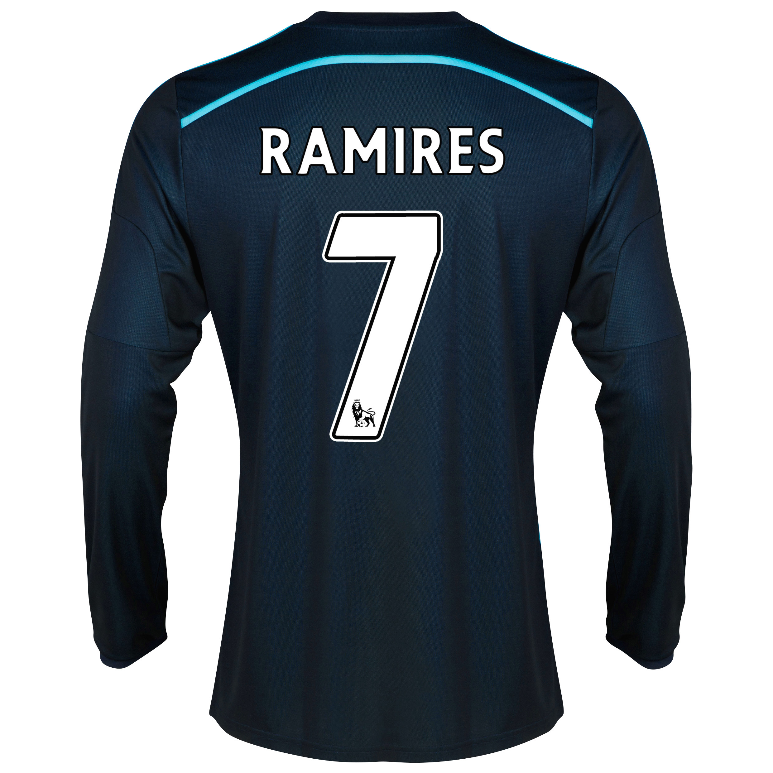 Chelsea Third Shirt 2014/15 - Long Sleeve with Ramires 7 printing
