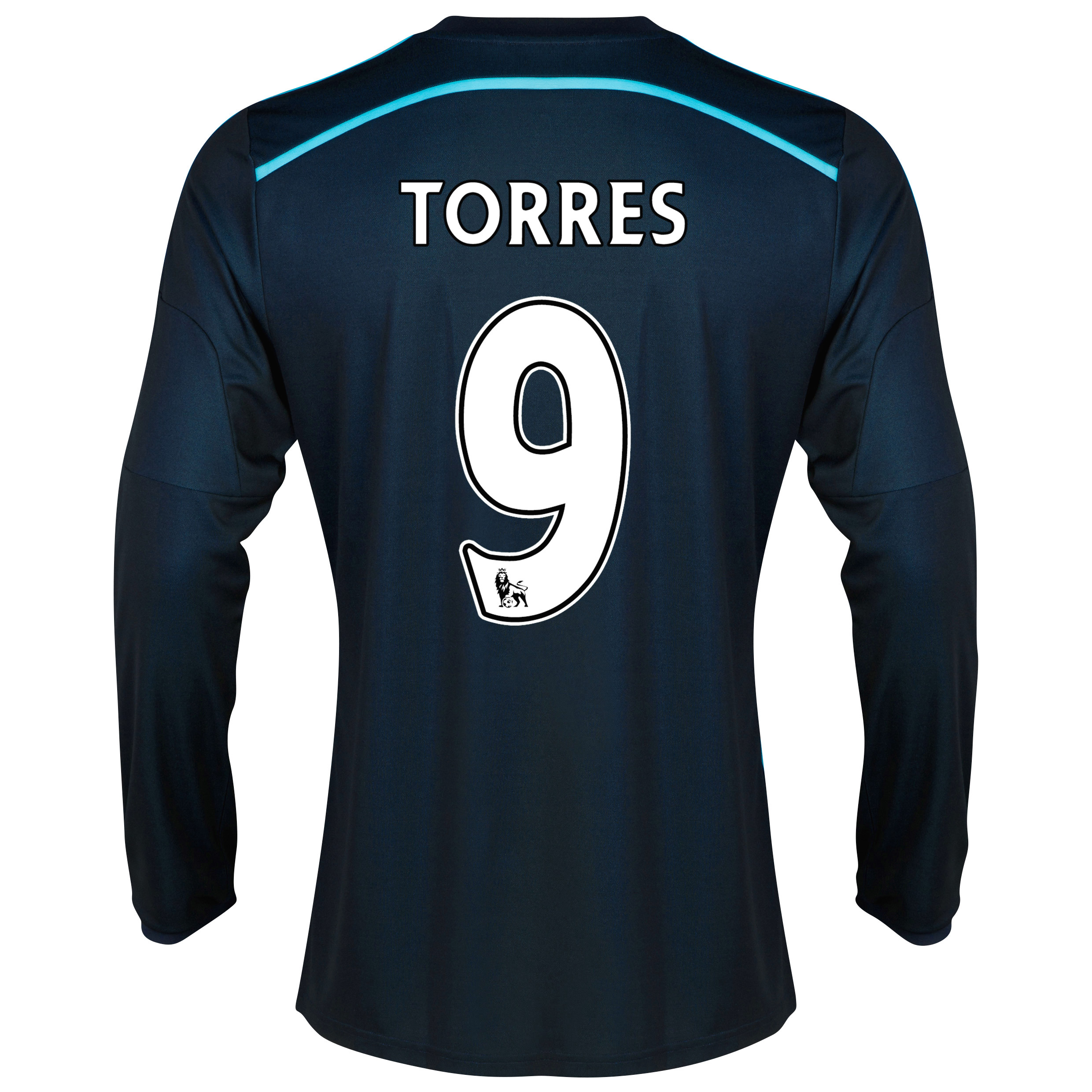 Chelsea Third Shirt 2014/15 - Long Sleeve with Torres 9 printing
