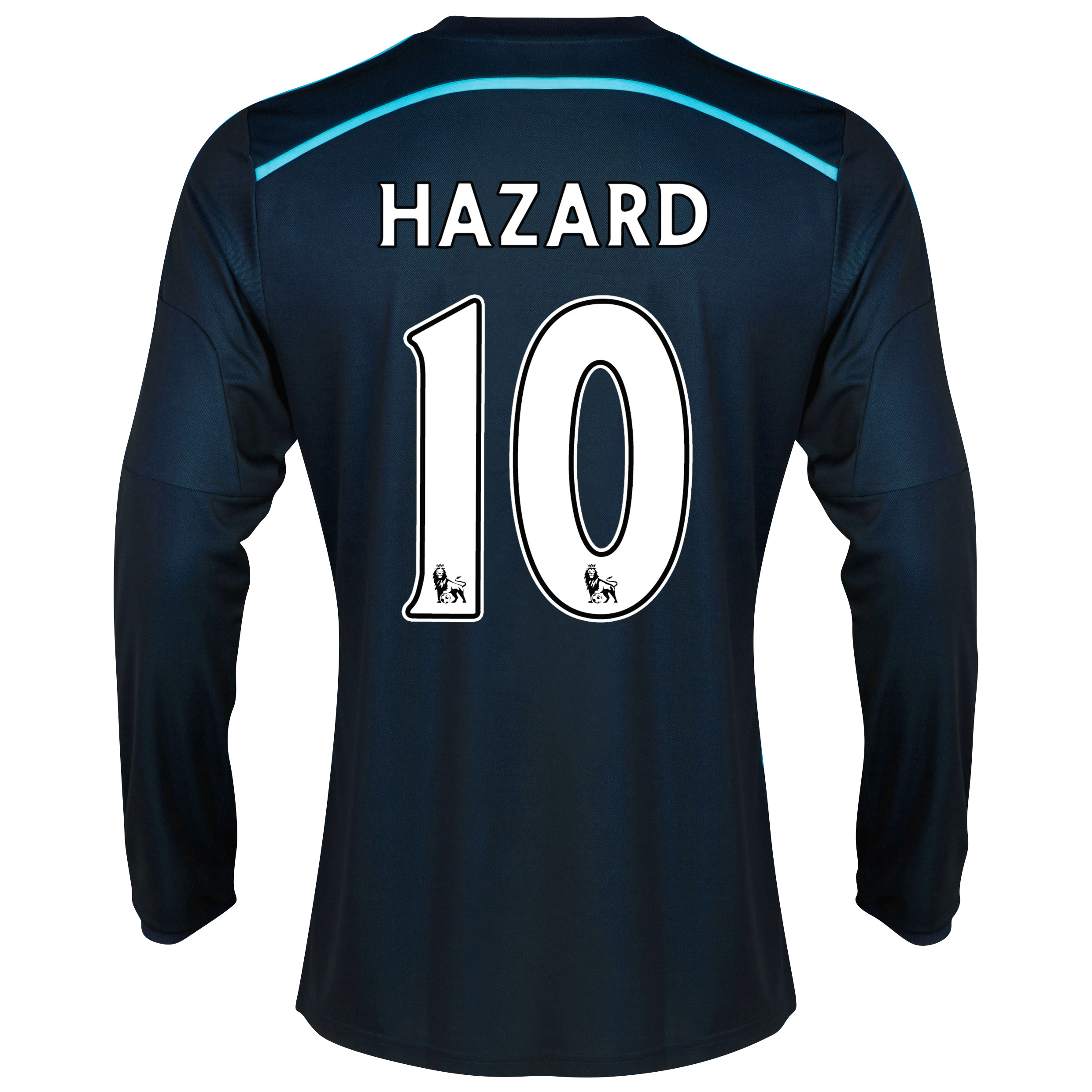 Chelsea Third Shirt 2014/15 - Long Sleeve with Hazard 10 printing
