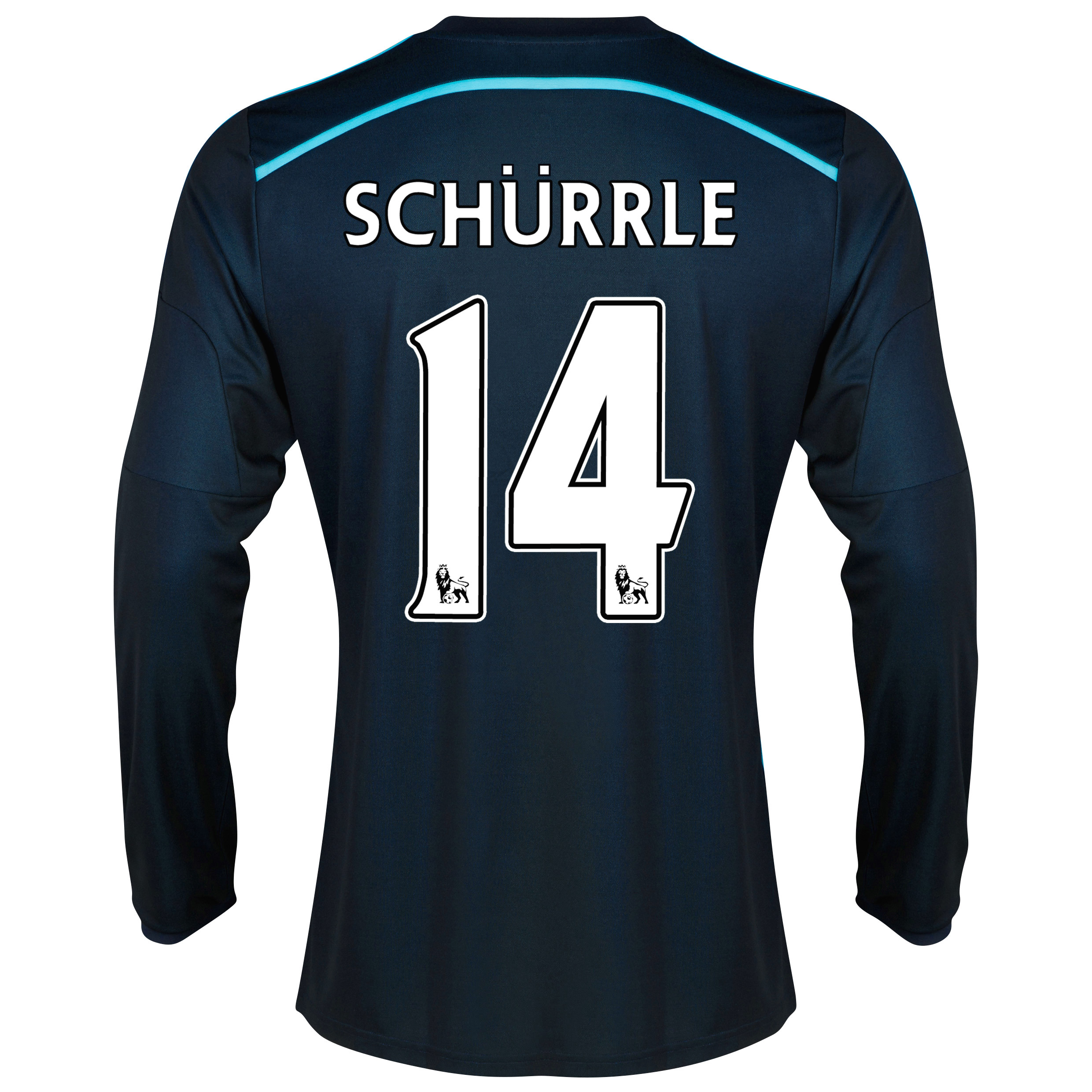 Chelsea Third Shirt 2014/15 - Long Sleeve with Schurrle 14 printing