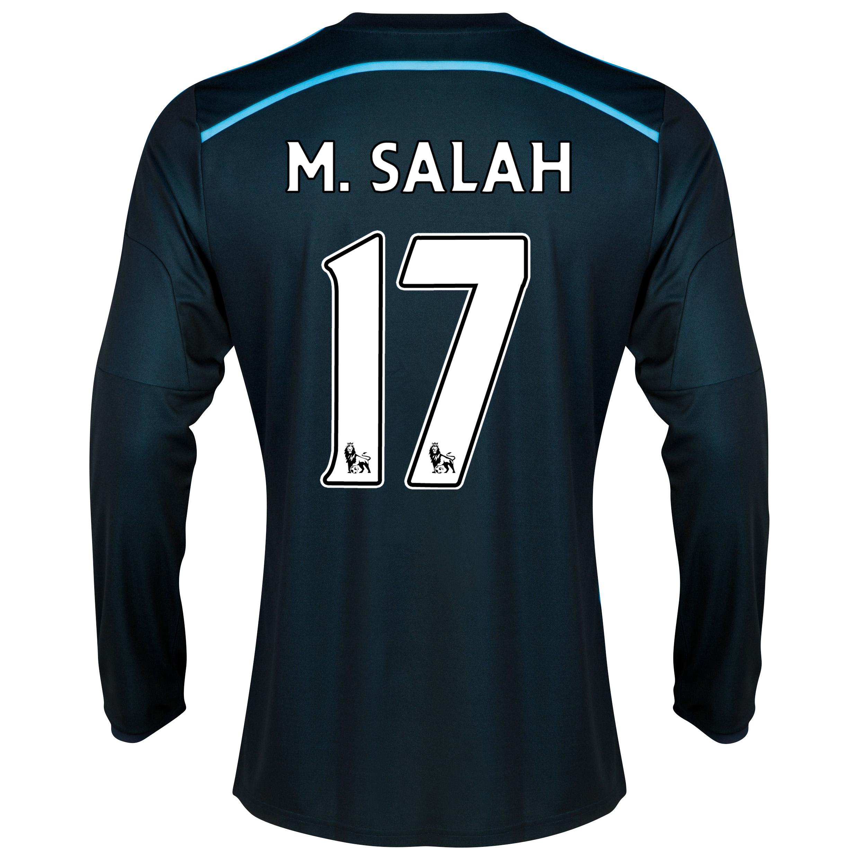 Chelsea Third Shirt 2014/15 - Long Sleeve with M. Salah 17 printing