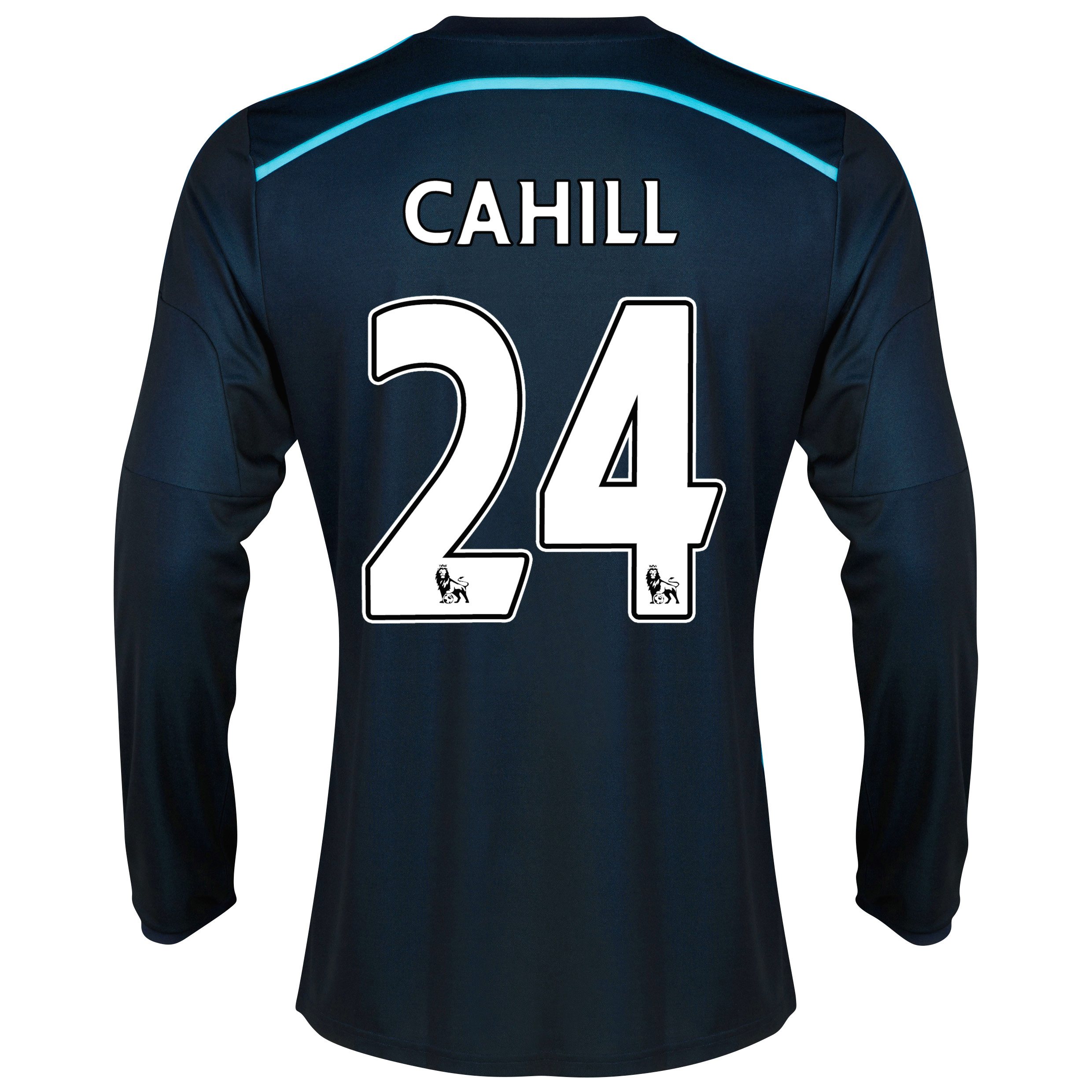 Chelsea Third Shirt 2014/15 - Long Sleeve with Cahill 24 printing