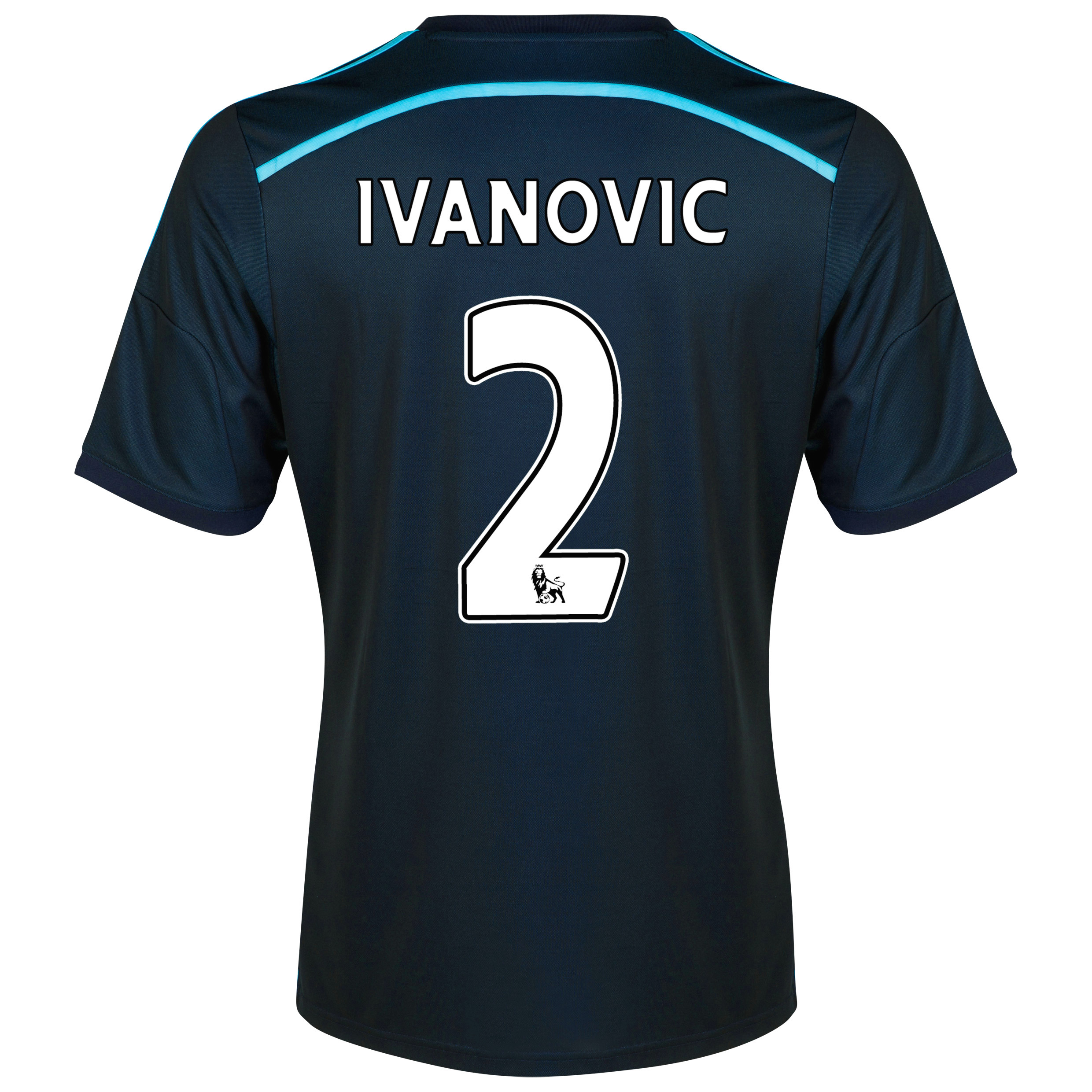 Chelsea Third Shirt 2014/15 - Kids with Ivanovic 2 printing