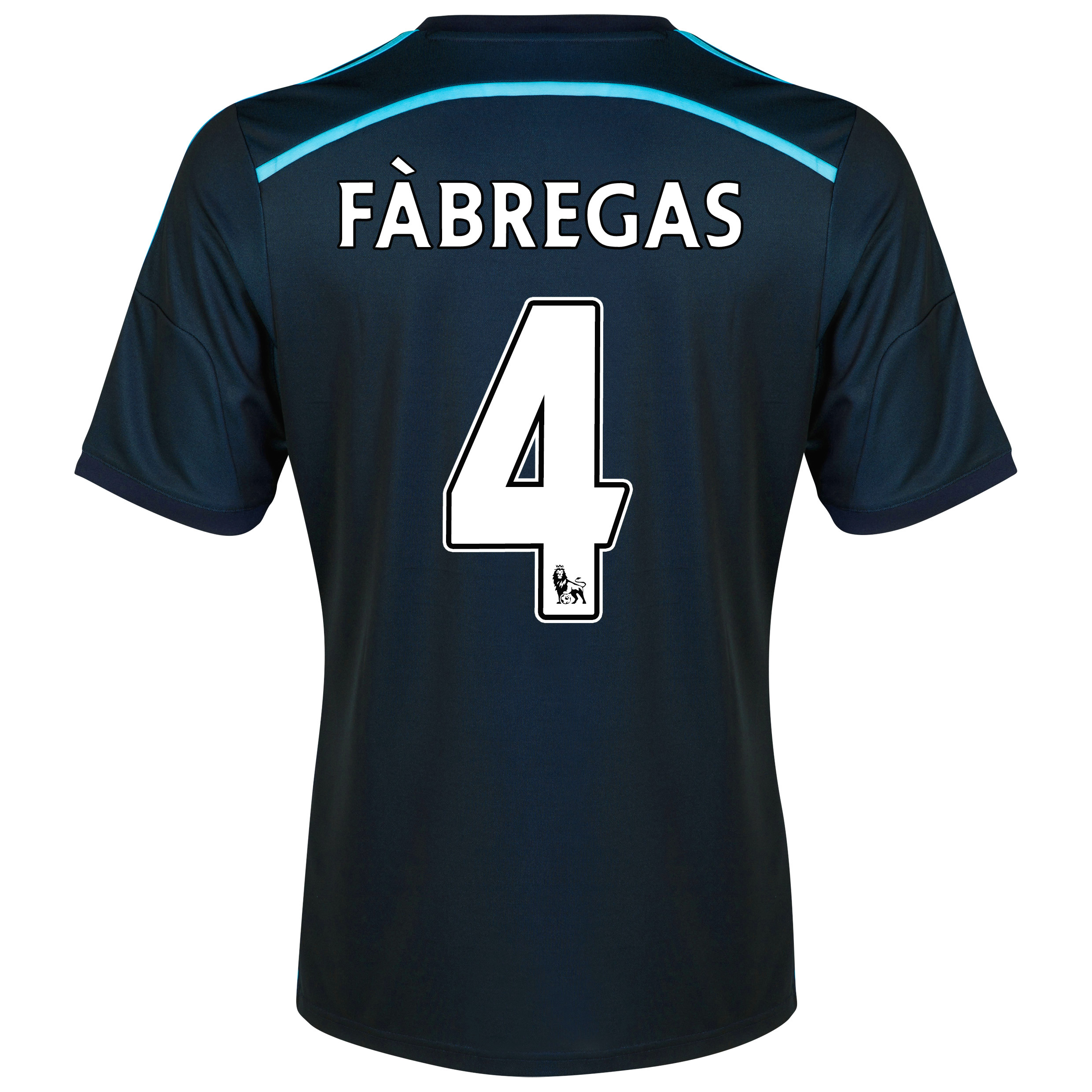 Chelsea Third Shirt 2014/15 - Kids with Fàbregas 4 printing