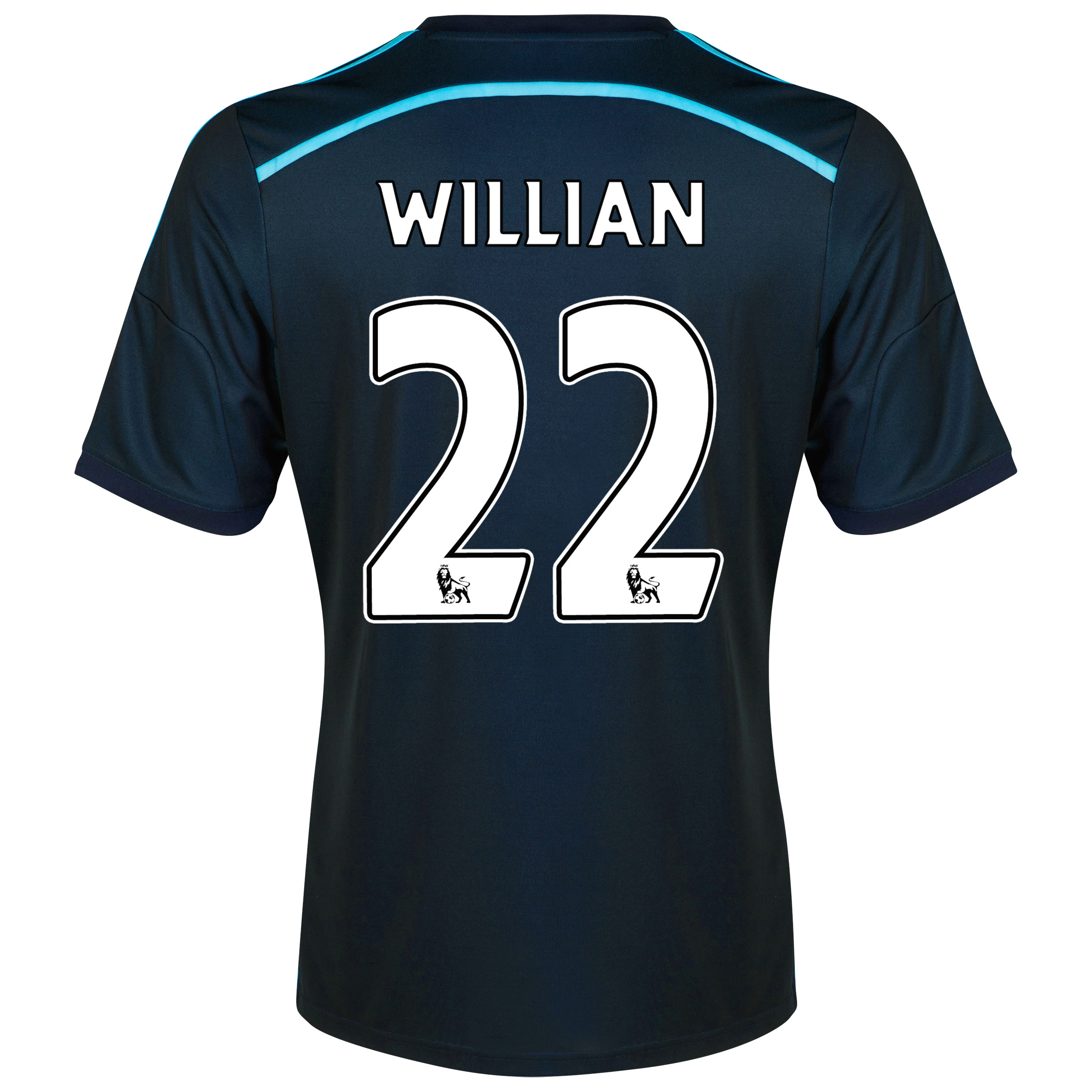 Chelsea Third Shirt 2014/15 - Kids with Willian 22 printing