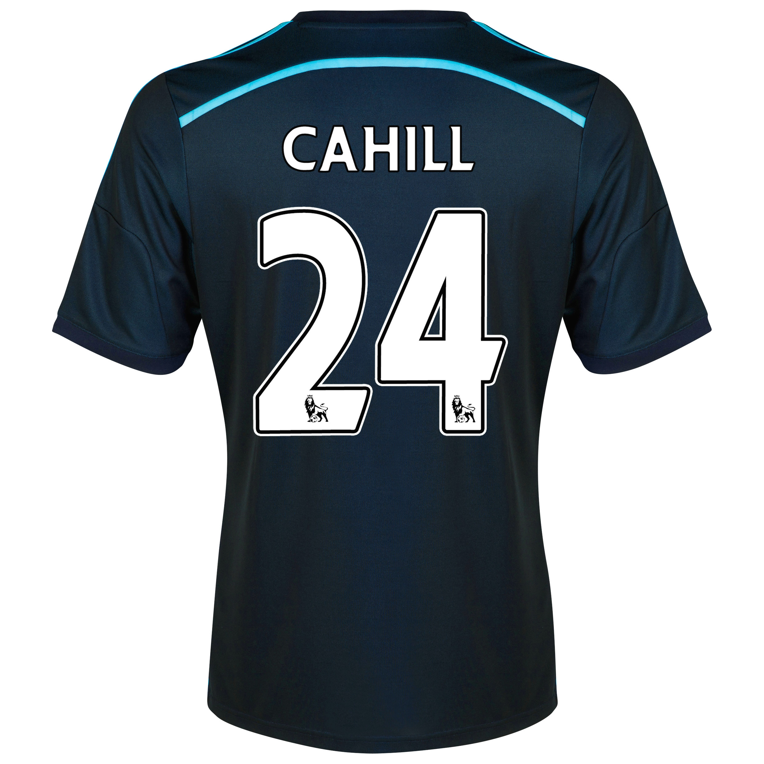 Chelsea Third Shirt 2014/15 - Kids with Cahill 24 printing
