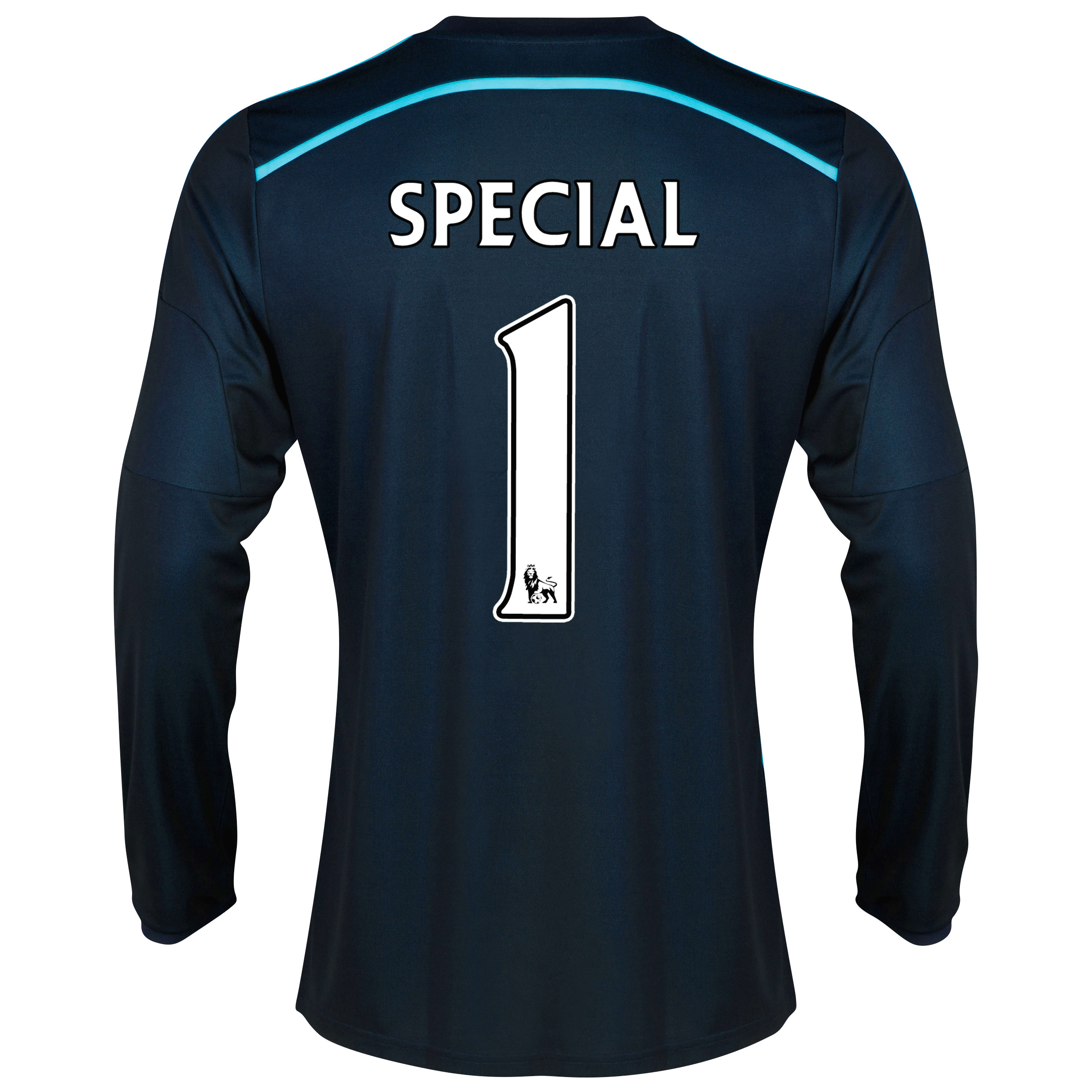 Chelsea Third Shirt 2014/15 - Long Sleeve - Kids with Special 1 printing