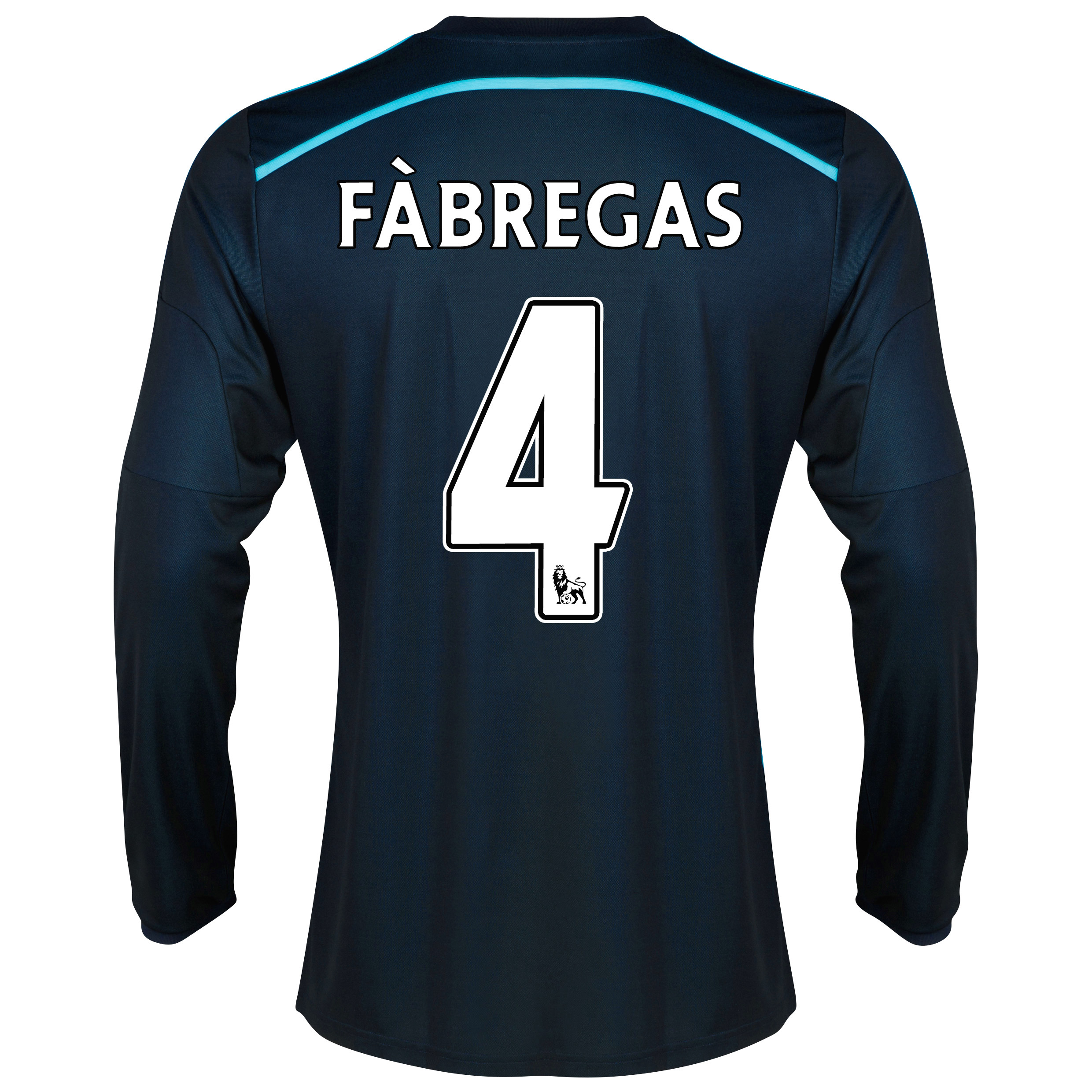 Chelsea Third Shirt 2014/15 - Long Sleeve - Kids with Fàbregas 4 printing