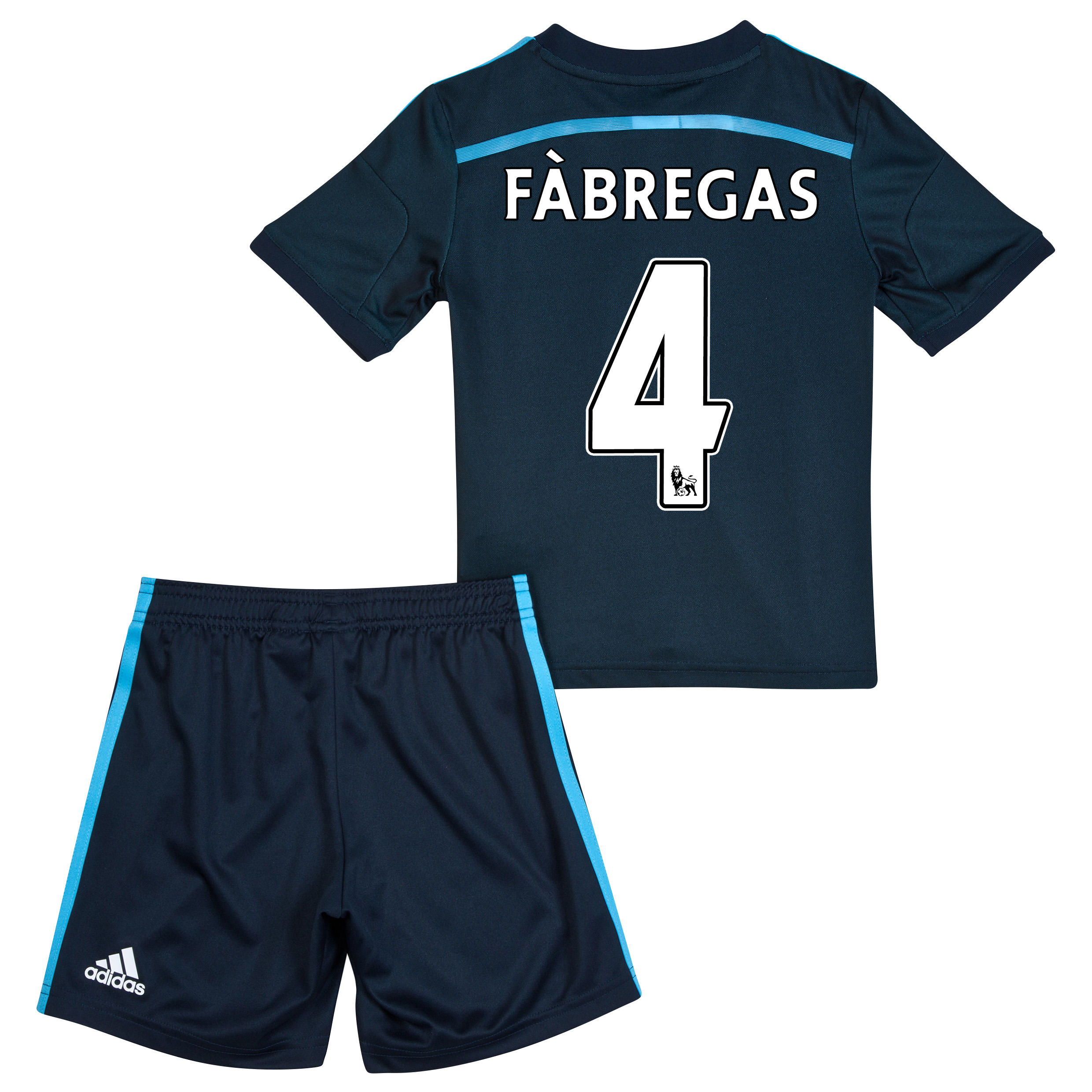 Chelsea Third Mini Kit 2014/15 with Fàbregas 4 printing