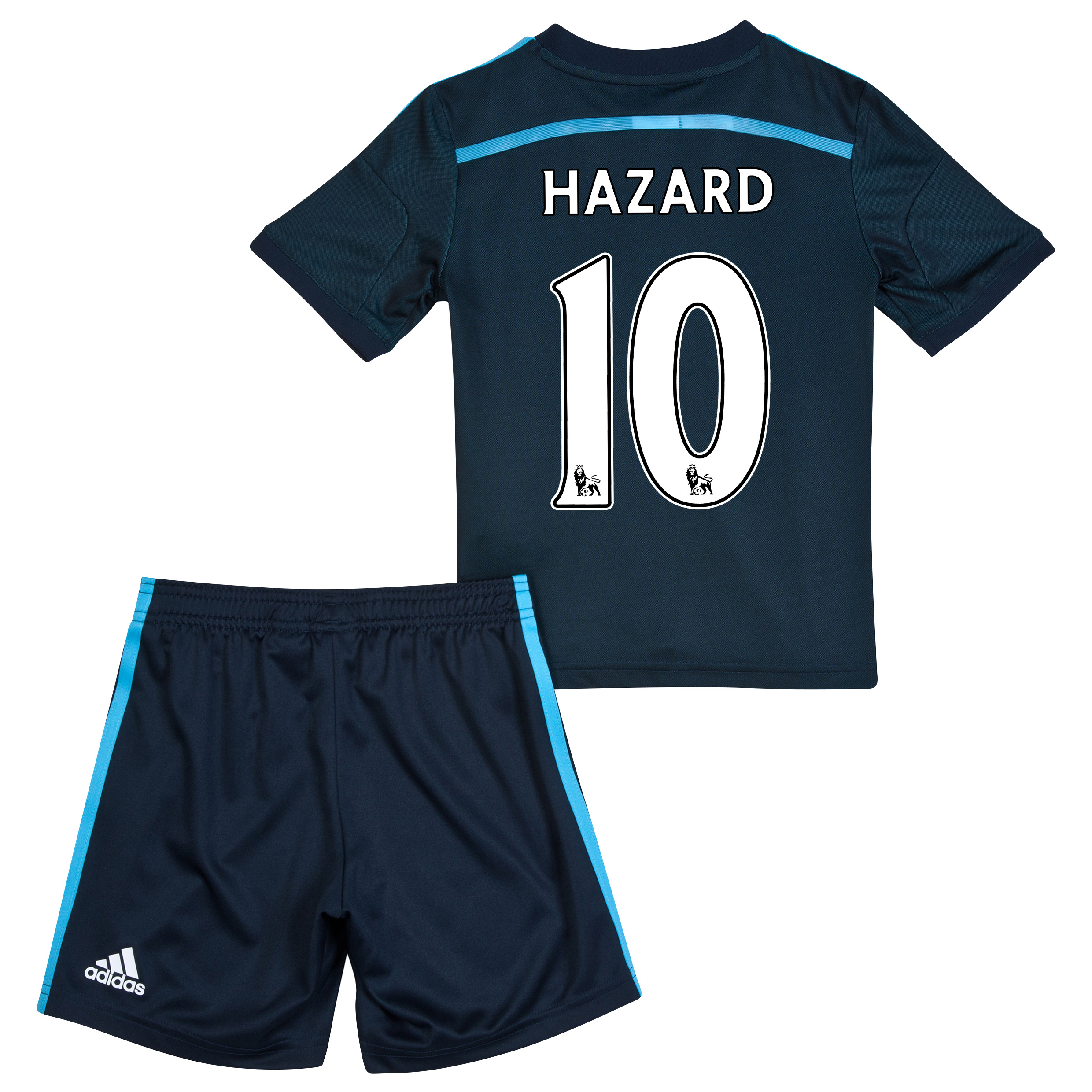 Chelsea Third Mini Kit 2014/15 with Hazard 10 printing