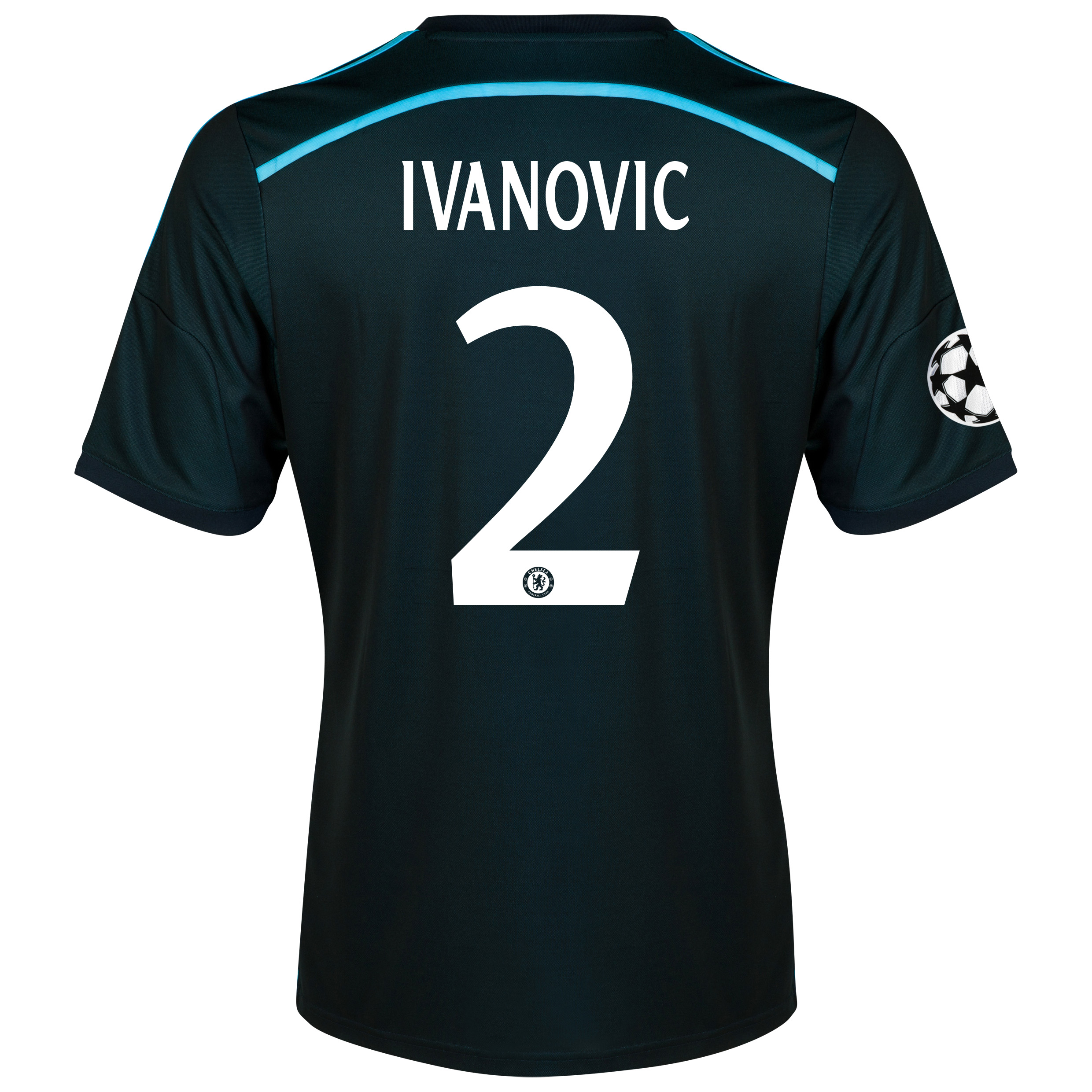Chelsea UEFA Champions League Third Shirt 2014/15 with Ivanovic 2 printing