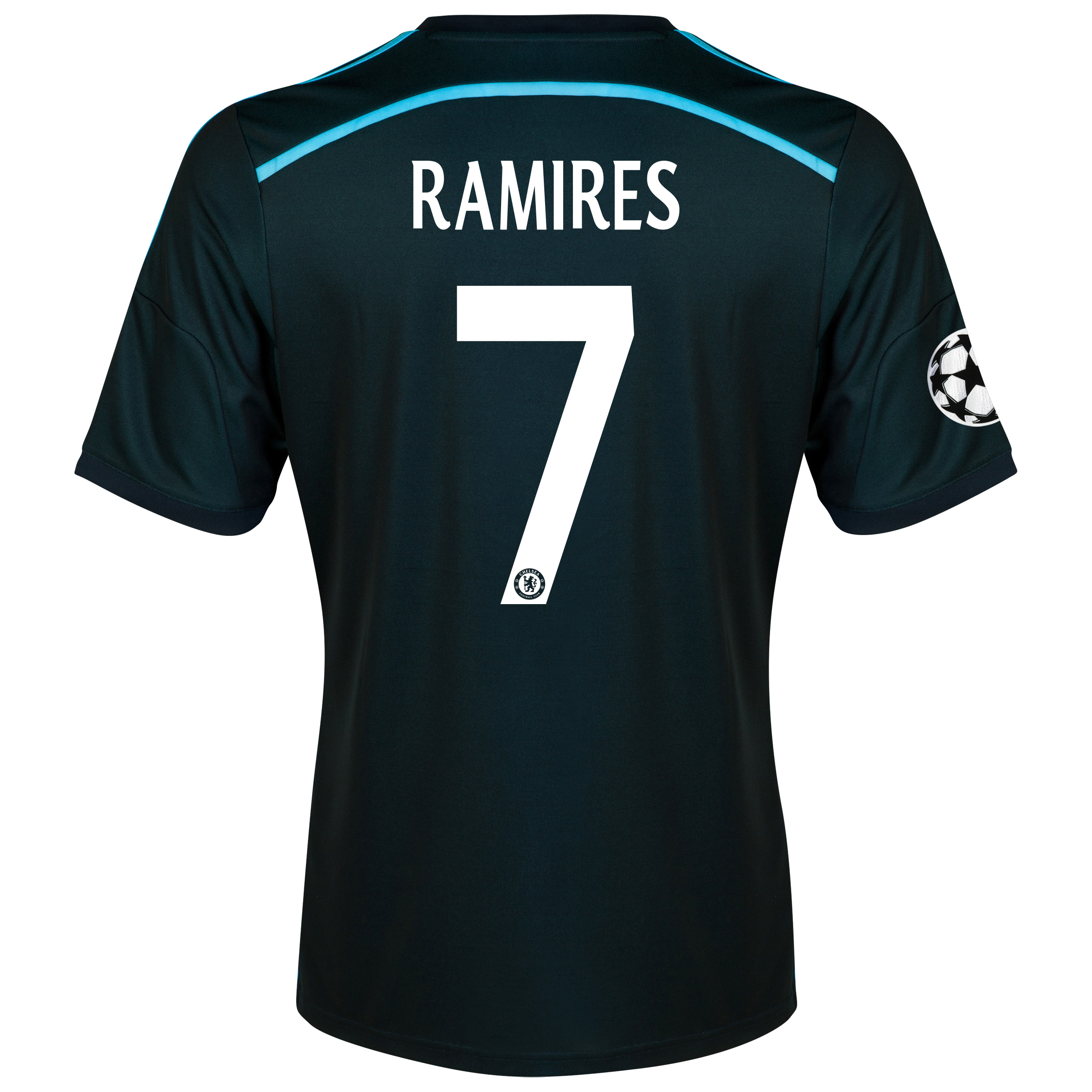 Chelsea UEFA Champions League Third Shirt 2014/15 with Ramires 7 printing