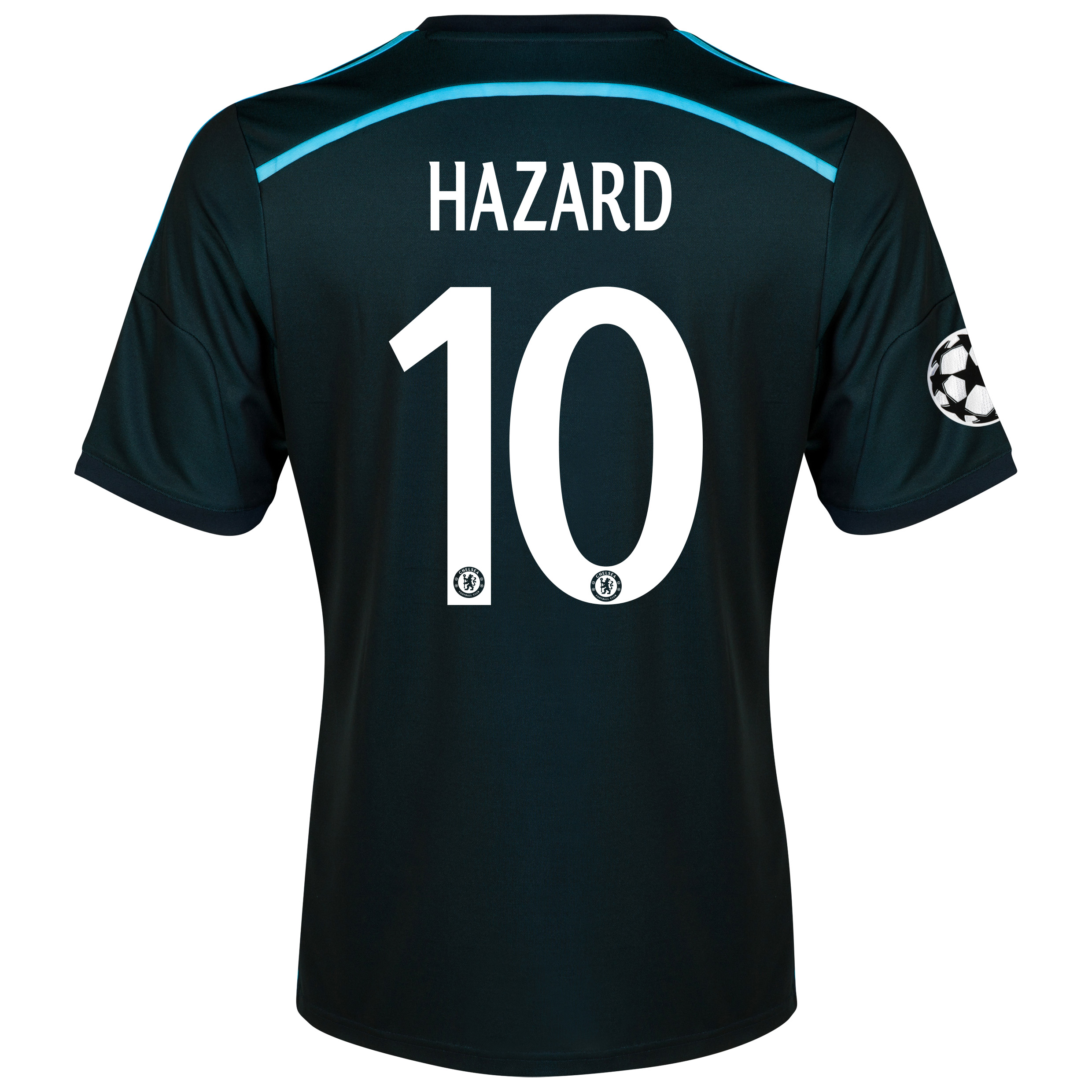 Chelsea UEFA Champions League Third Shirt 2014/15 with Hazard 10 printing