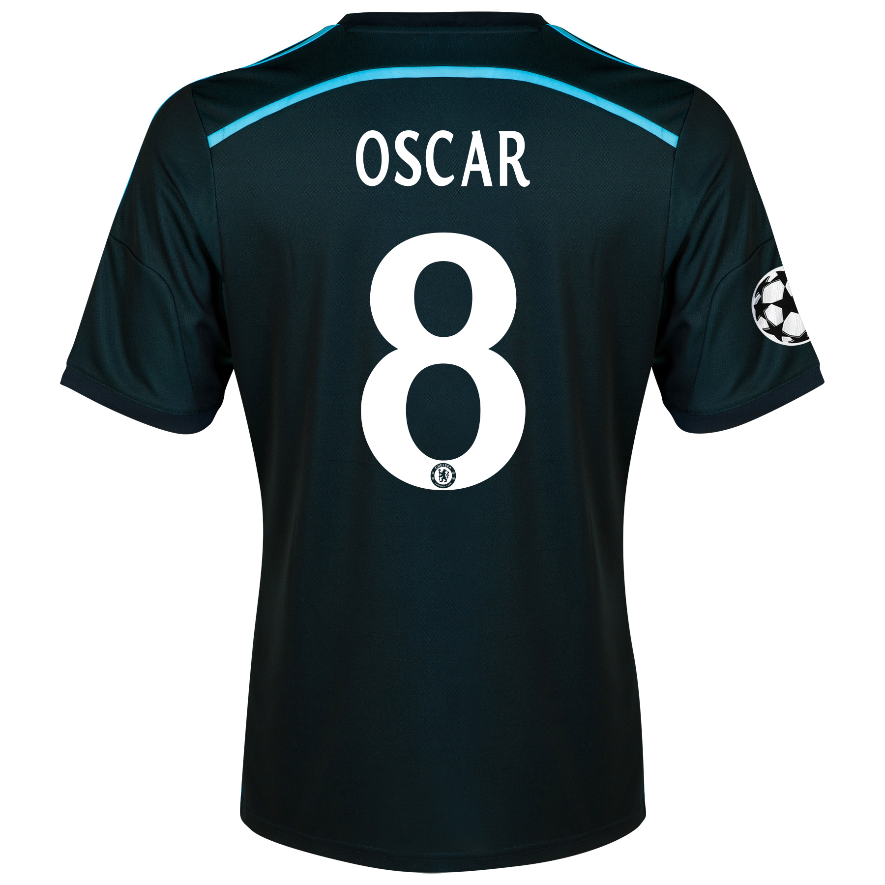 Chelsea UEFA Champions League Third Shirt 2014/15 with Oscar 11 printing