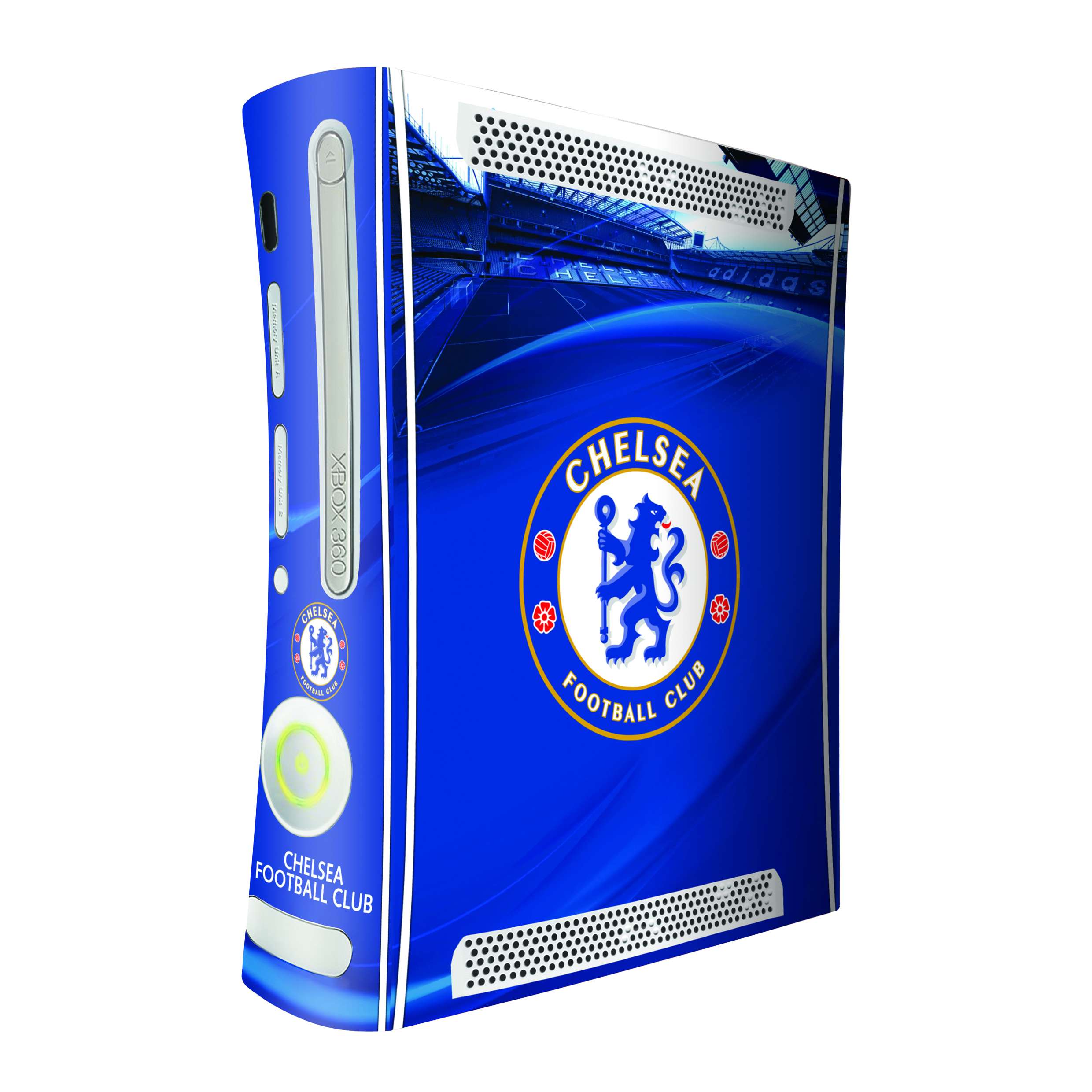 Chelsea FC Xbox 360 Games Console Skin