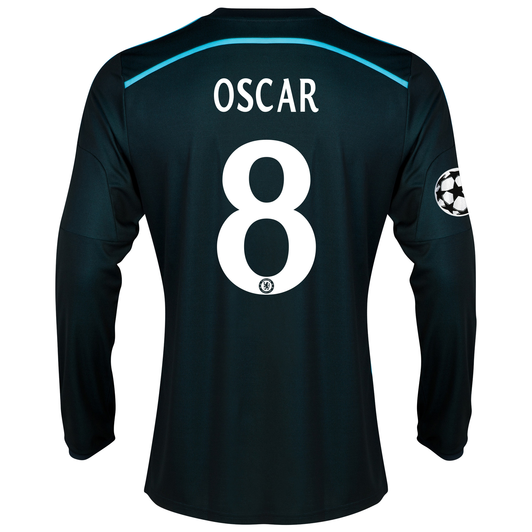 Chelsea UEFA Champions League Third Shirt 2014/15 - Long Sleeve - Kids with Oscar 11 printing