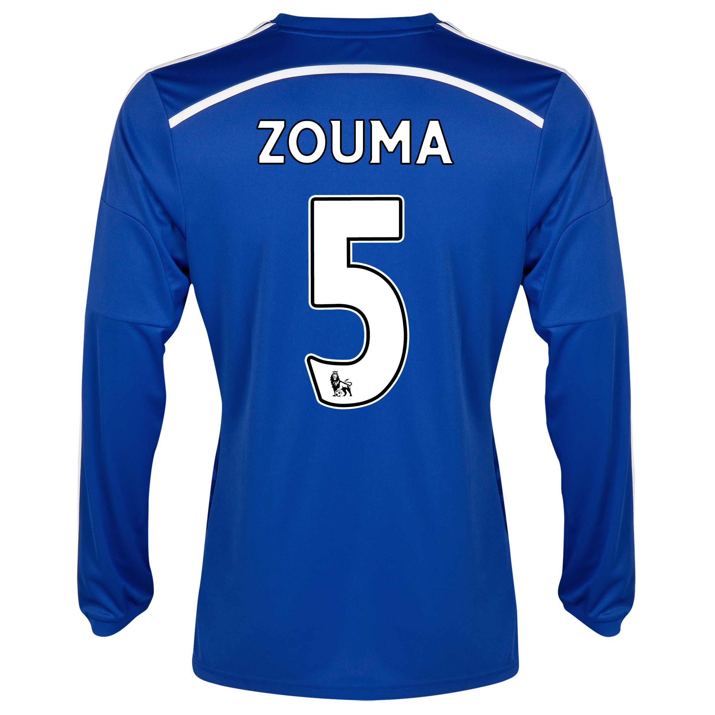 Chelsea Home Shirt 2014/15 - Long Sleeve with ZOUMA 5 printing