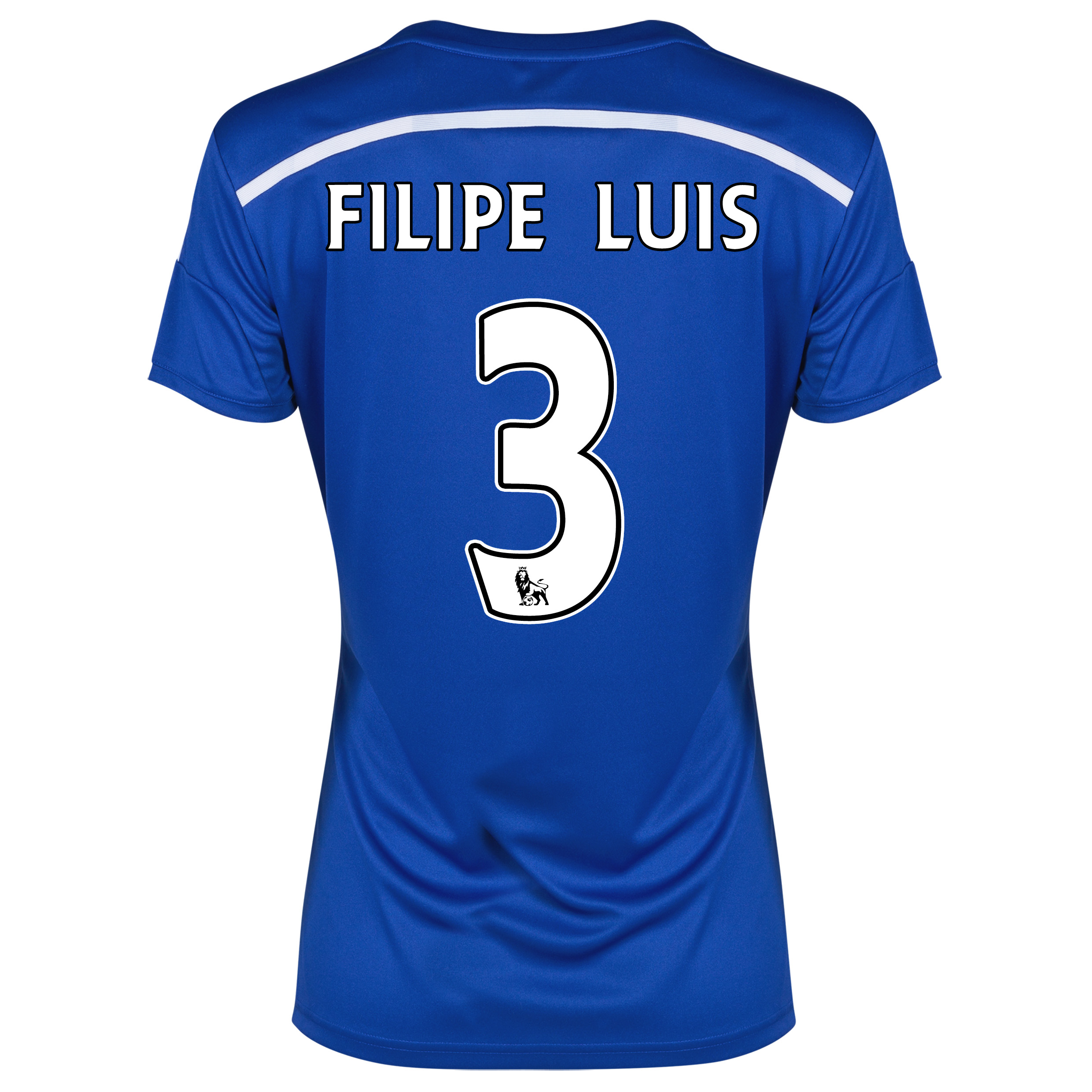 Chelsea Home Shirt 2014/15 - Womens with FILIPE LUIS 3 printing