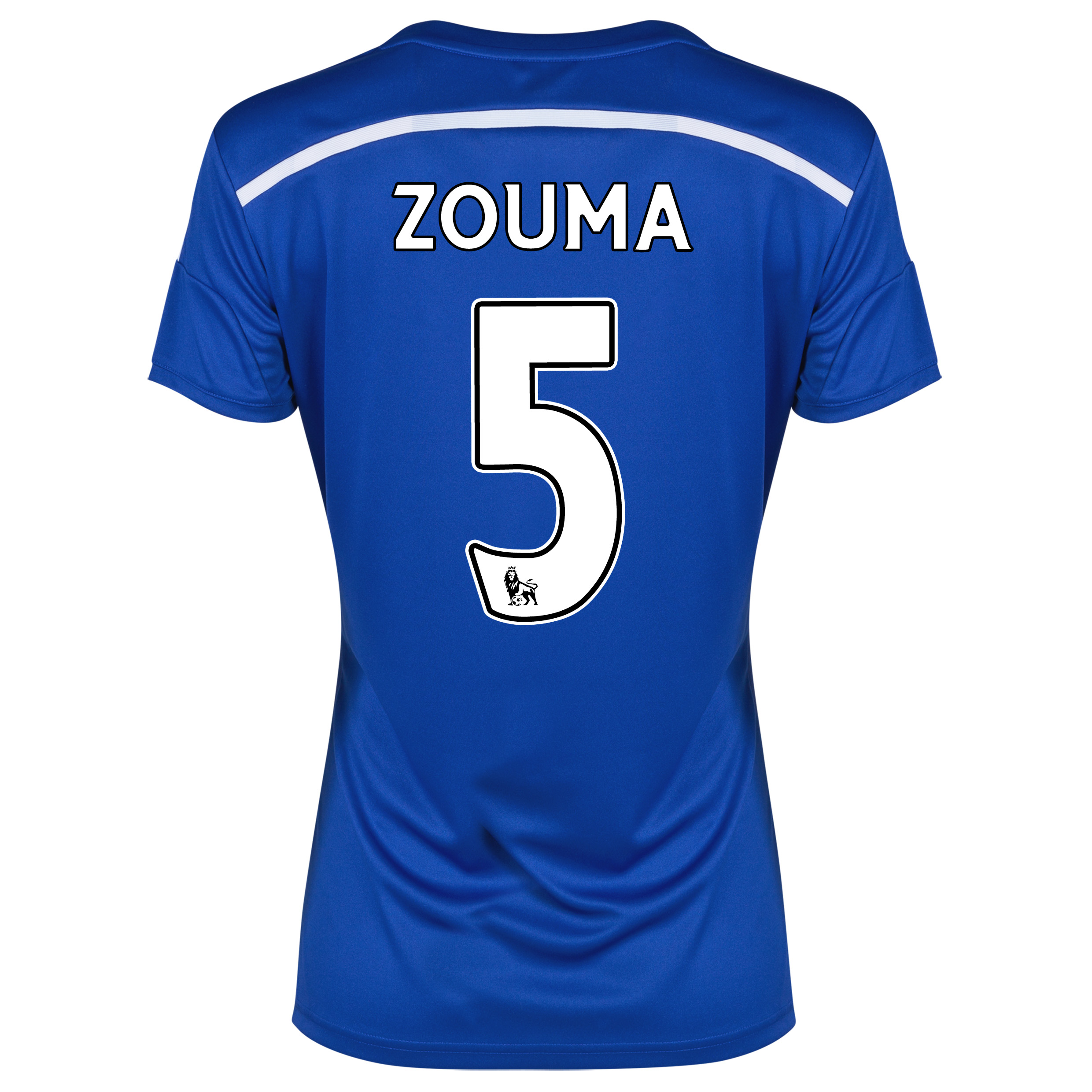 Chelsea Home Shirt 2014/15 - Womens with ZOUMA 5 printing