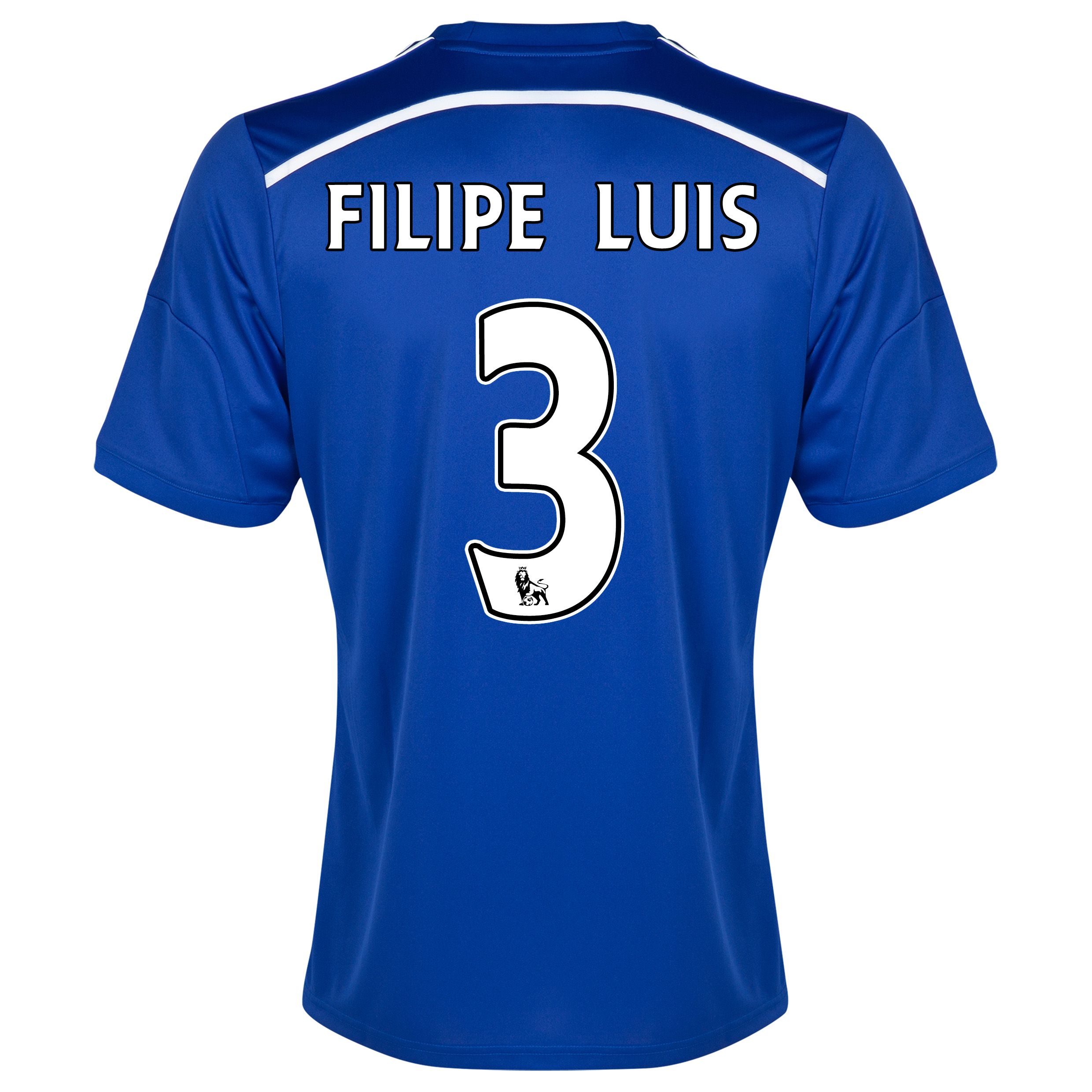 Chelsea Home Shirt 2014/15 - Outsize with FILIPE LUIS 3 printing