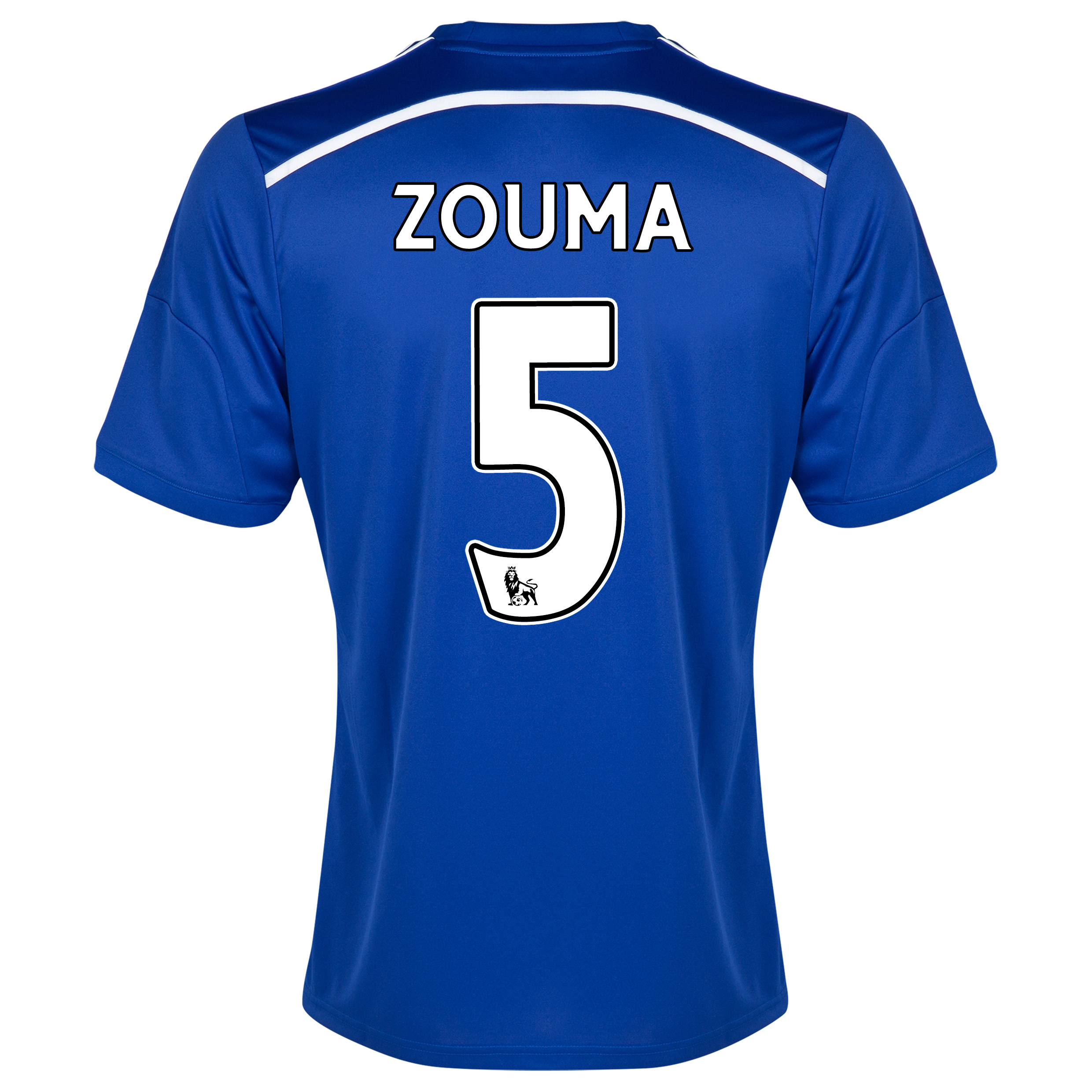 Chelsea Home Shirt 2014/15 - Outsize with ZOUMA 5 printing