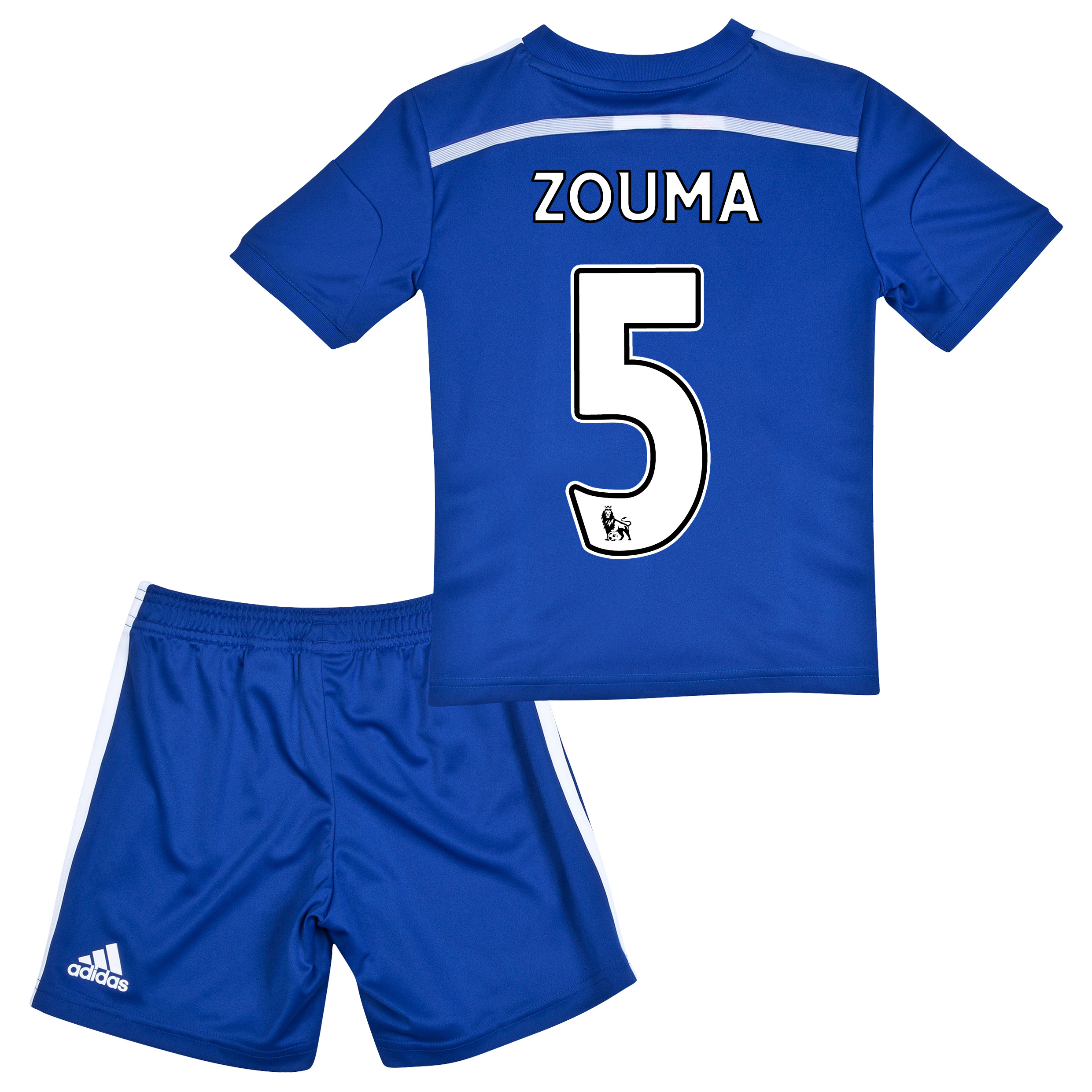 Chelsea Home Mini Kit 2014/15 with ZOUMA 5 printing