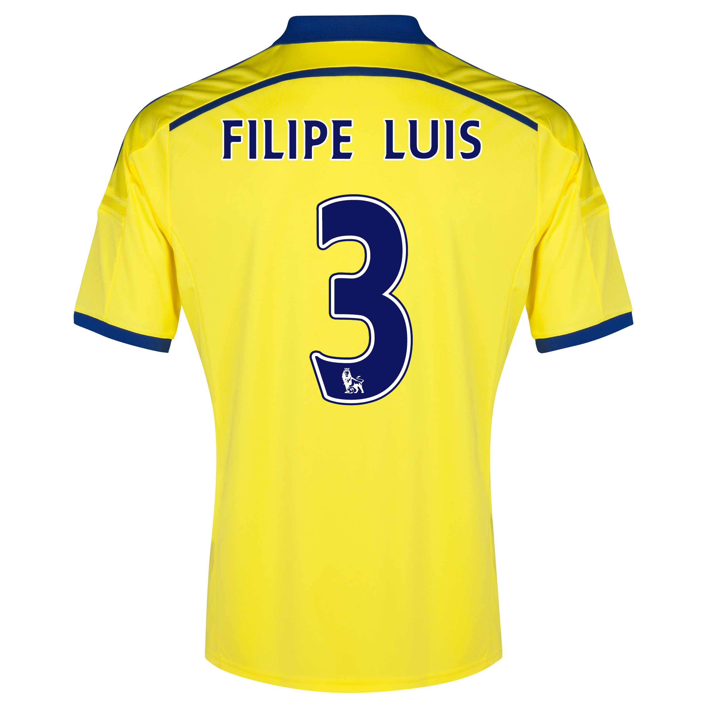 Chelsea Away Shirt 2014/15 with FILIPE LUIS 3 printing