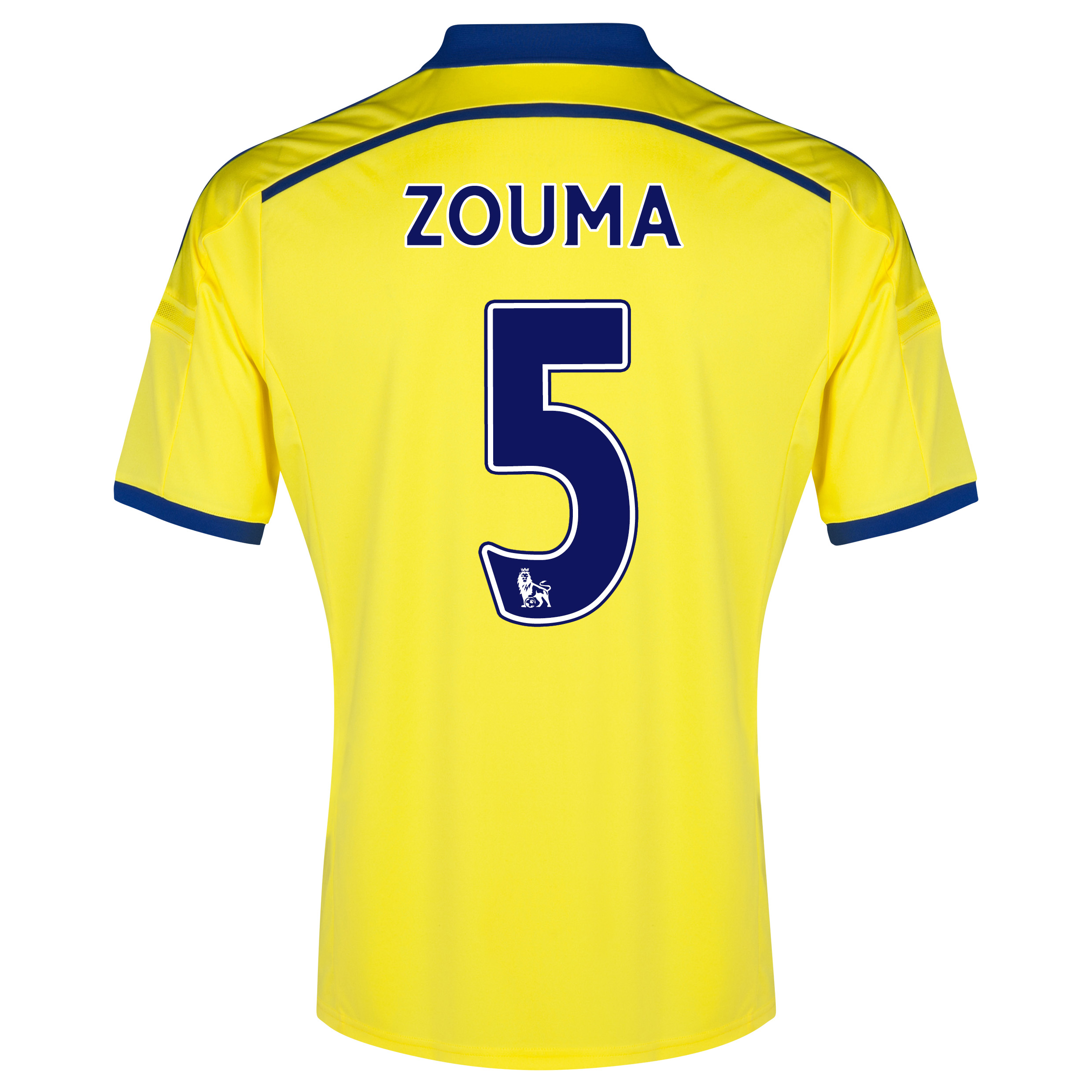 Chelsea Away Shirt 2014/15 with ZOUMA 5 printing