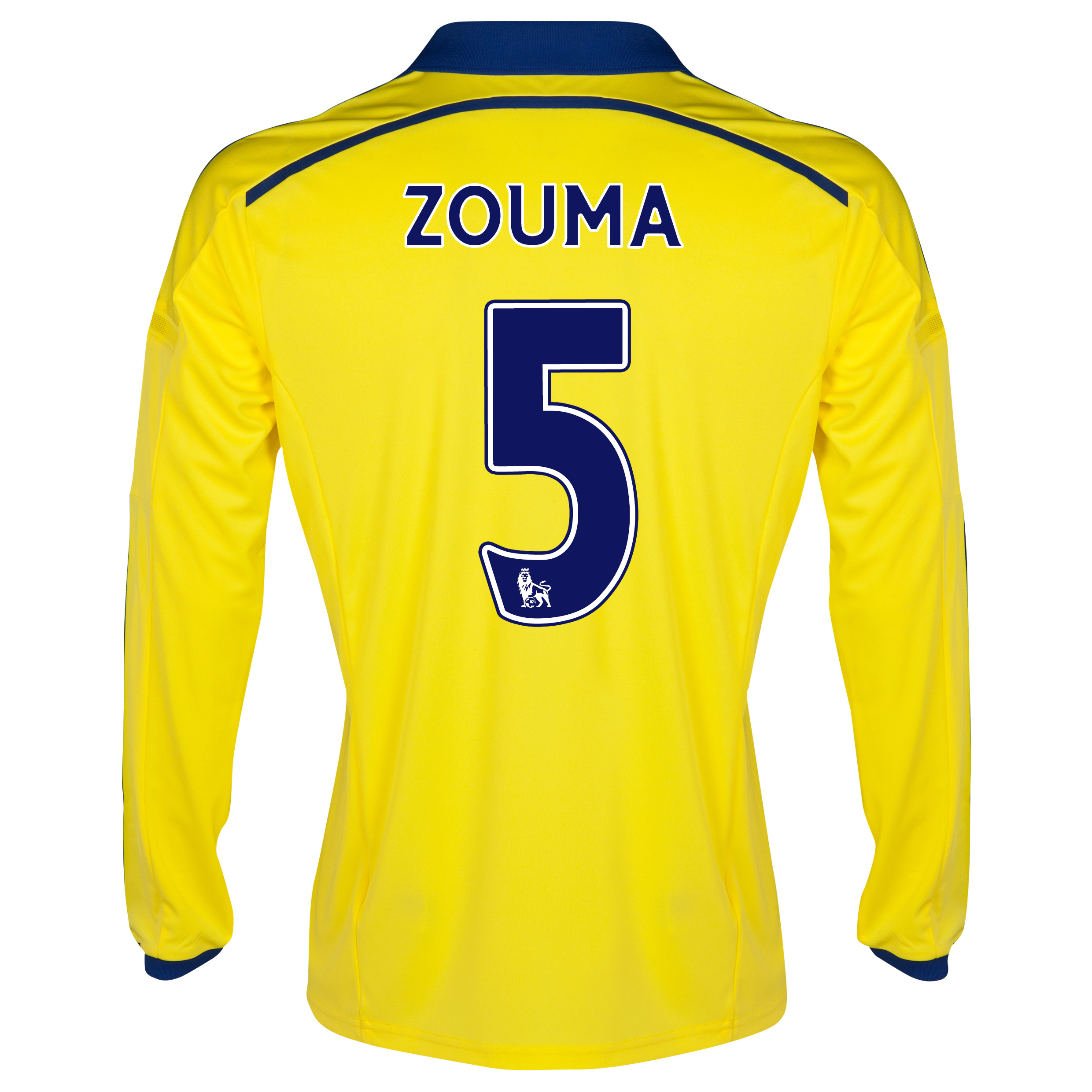 Chelsea Away Shirt 2014/15 - Long Sleeve - Kids with ZOUMA 5 printing