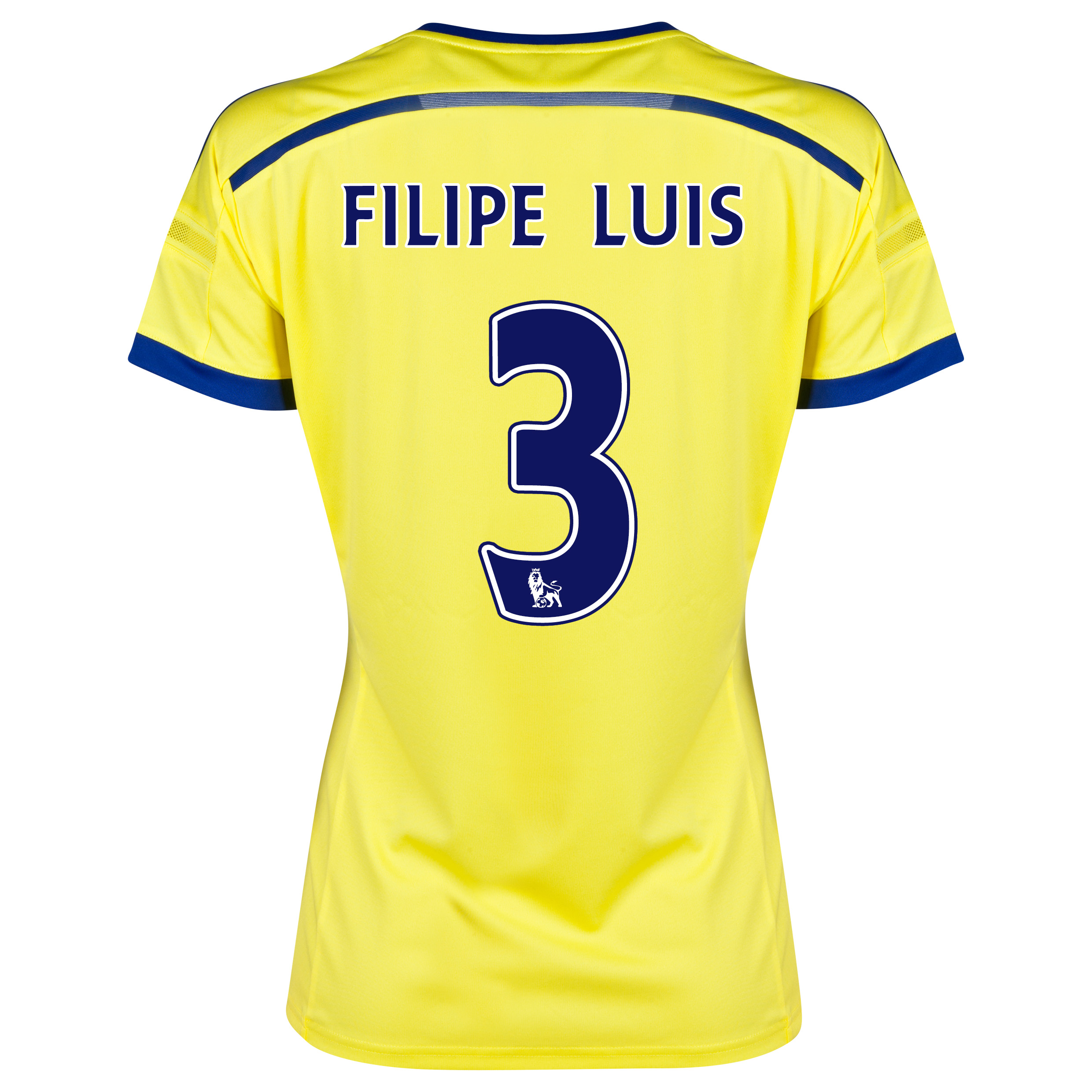 Chelsea Away Shirt 2014/15 - Womens with FILIPE LUIS 3 printing