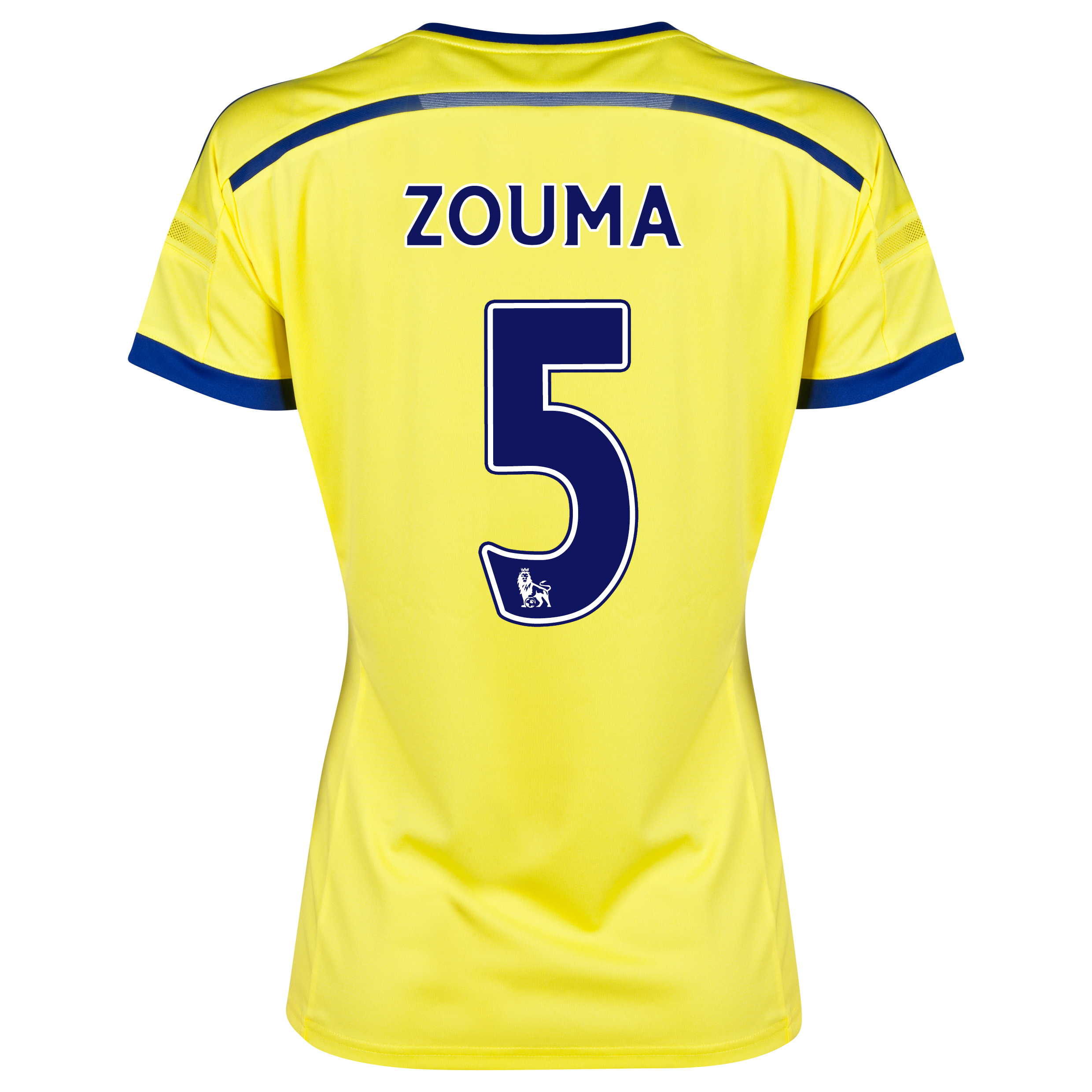 Chelsea Away Shirt 2014/15 - Womens with ZOUMA 5 printing