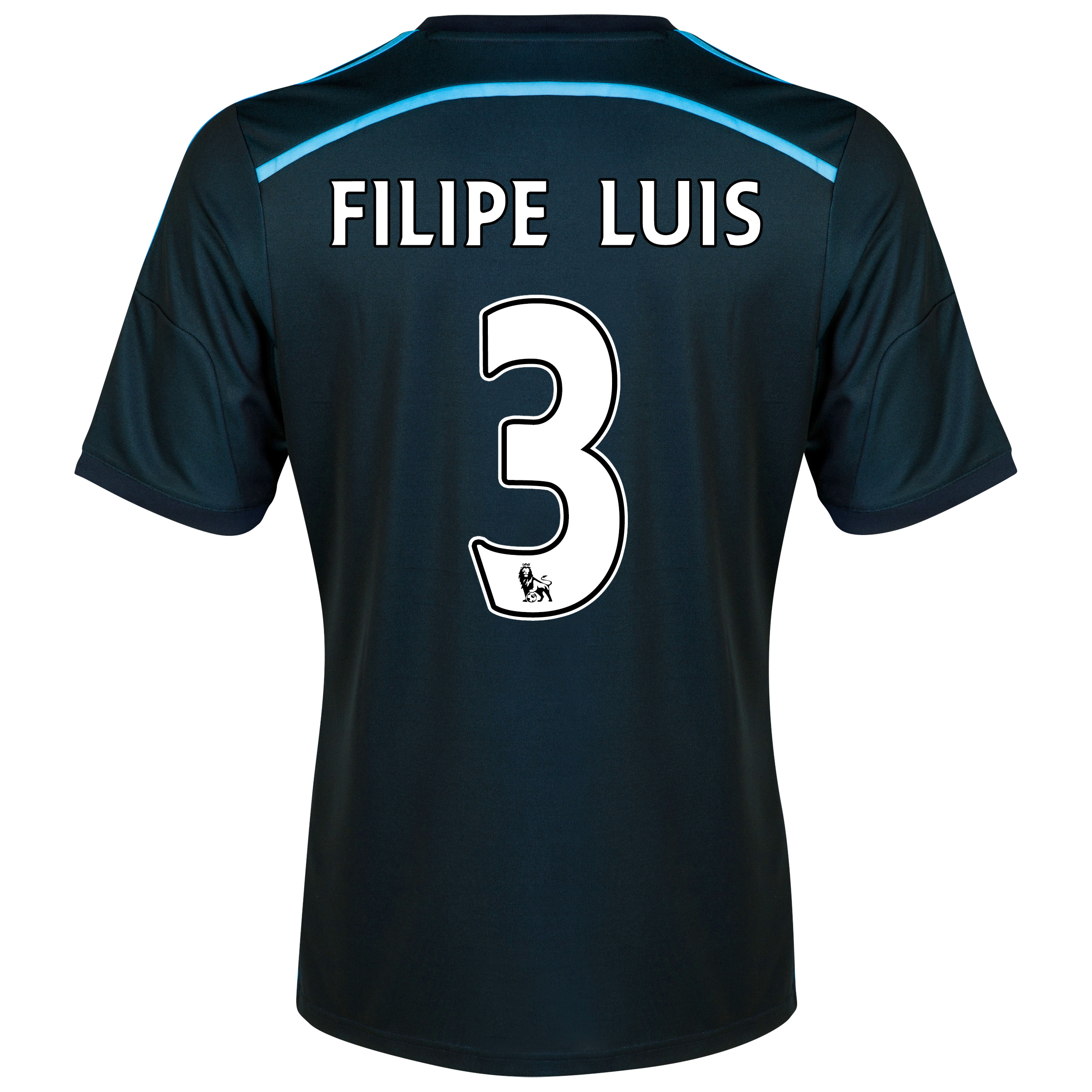 Chelsea Third Shirt 201415 with FILIPE LUIS 3 printing