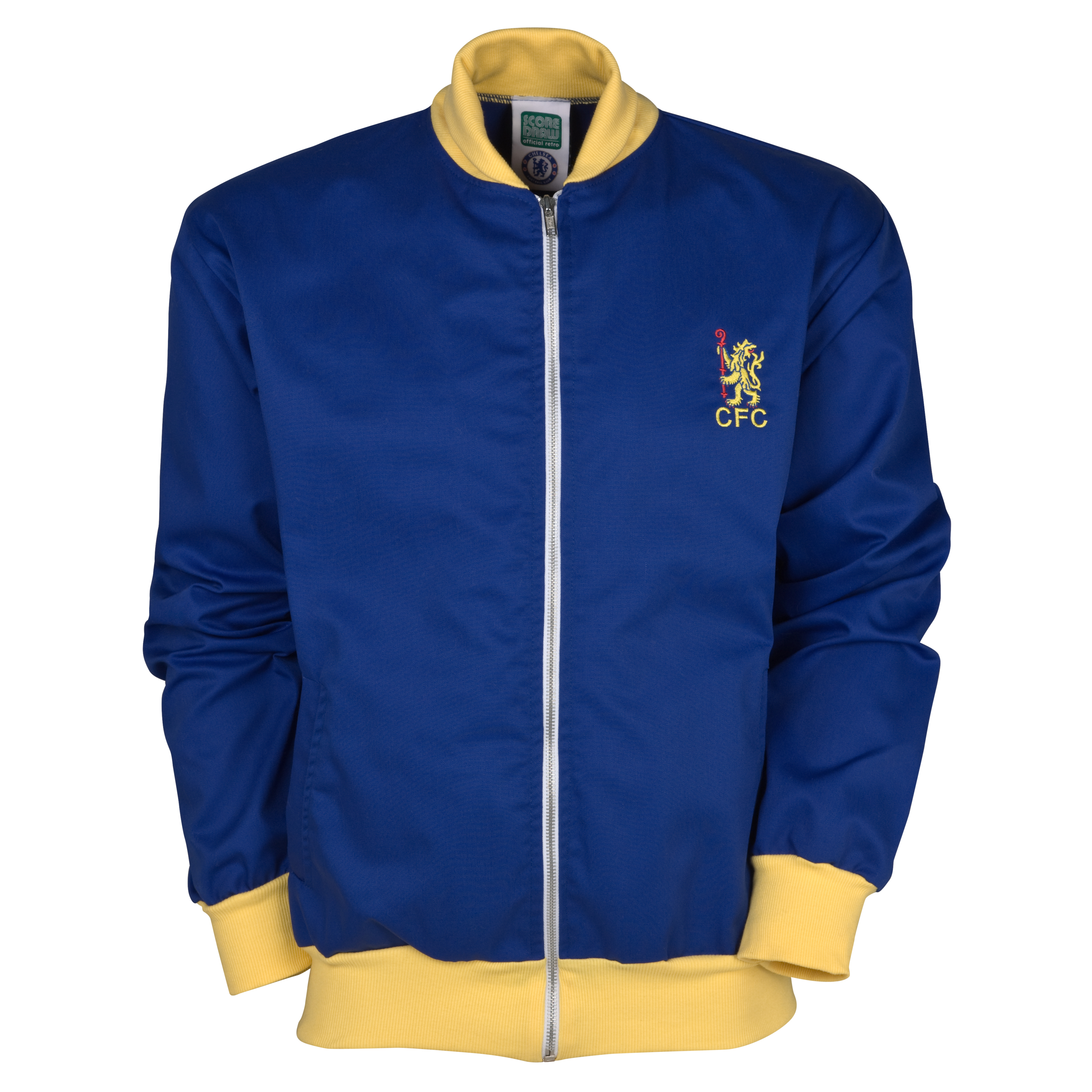 Chelsea 1967 Track Jacket - Royal/Yellow