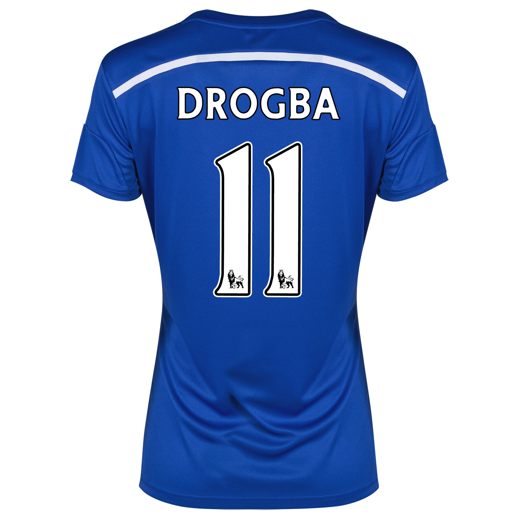 Chelsea Home Shirt 2014/15 - Womens with Drogba 15 printing