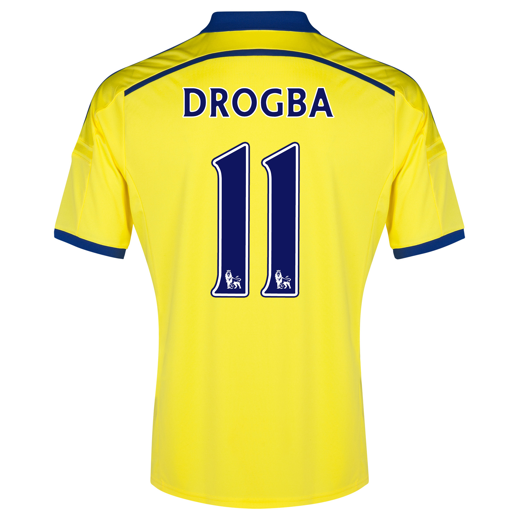 Chelsea Away Shirt 2014/15 with Drogba 15 printing