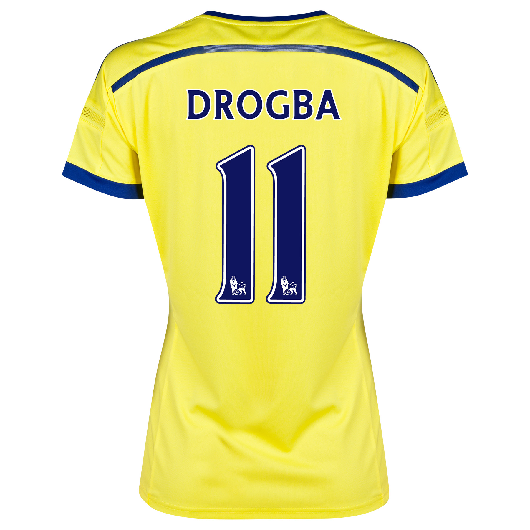 Chelsea Away Shirt 2014/15 - Womens with Drogba 15 printing