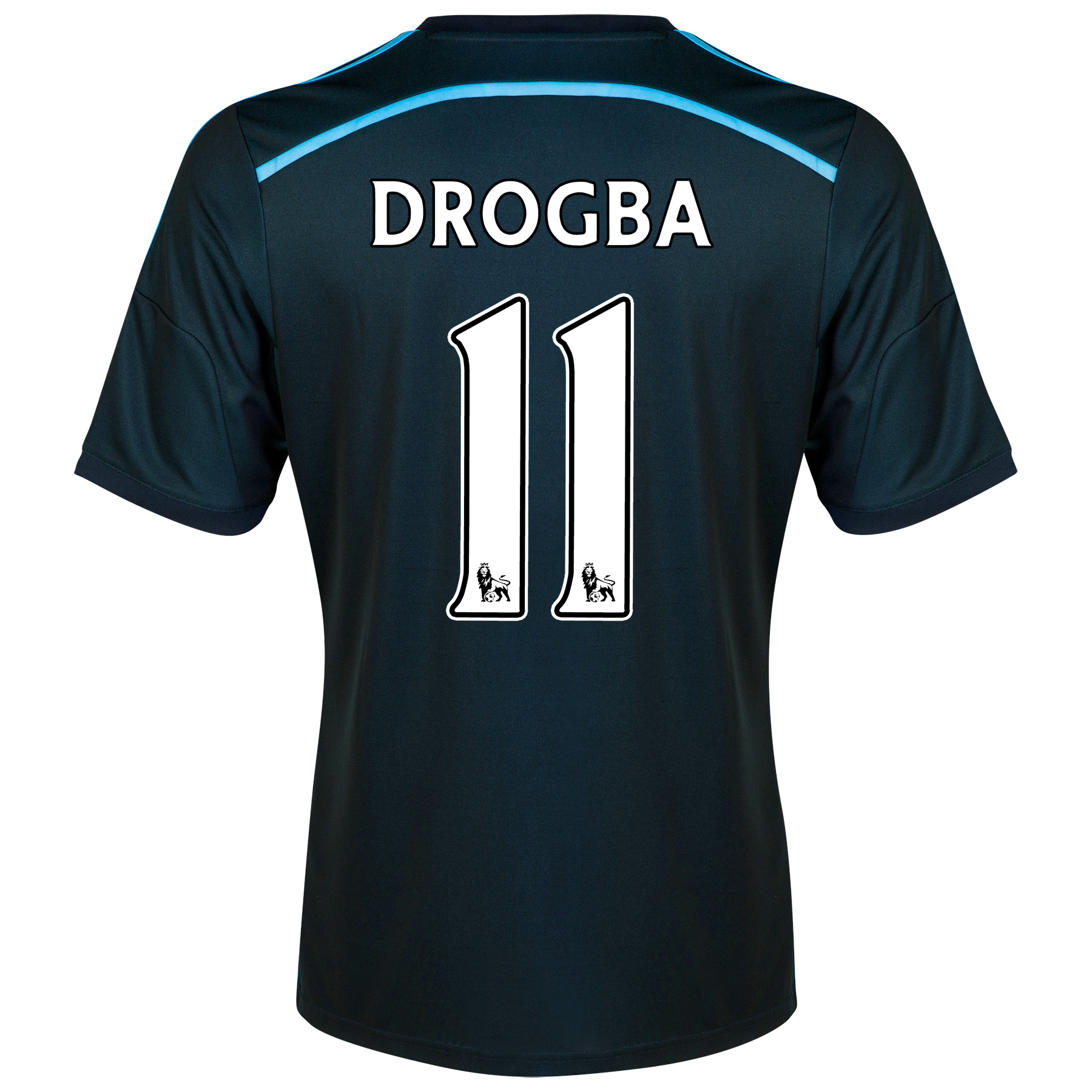 Chelsea Third Shirt 2014/15 - Kids with Drogba 15 printing