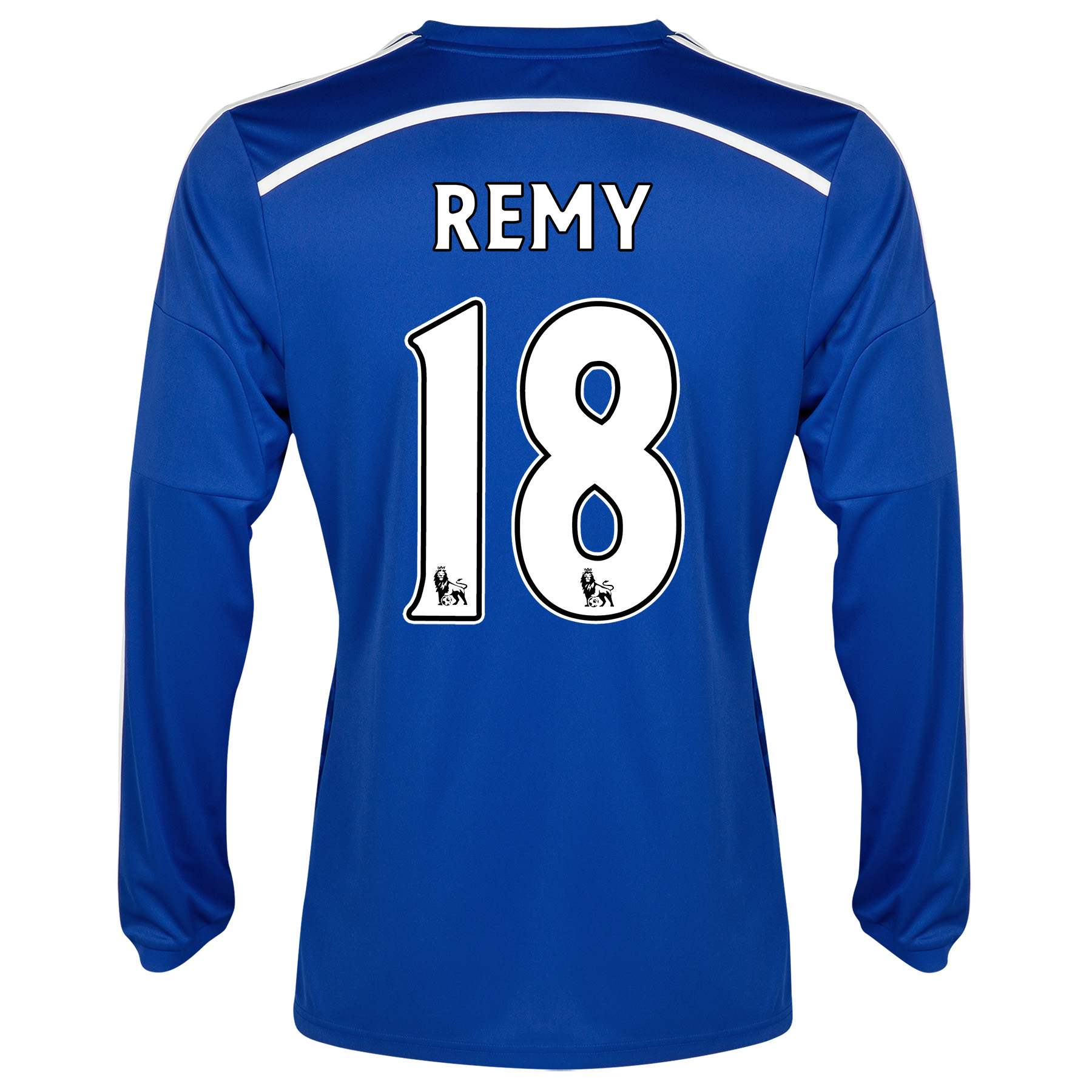 Chelsea Home Shirt 2014/15 - Long Sleeve - Kids with Remy 18 printing