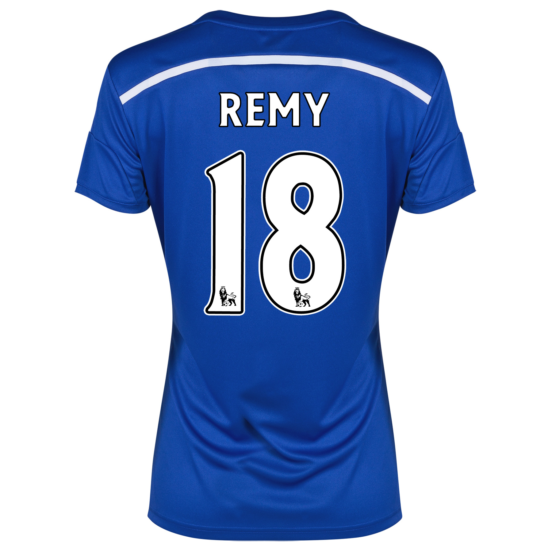 Chelsea Home Shirt 2014/15 - Womens with Remy 18 printing