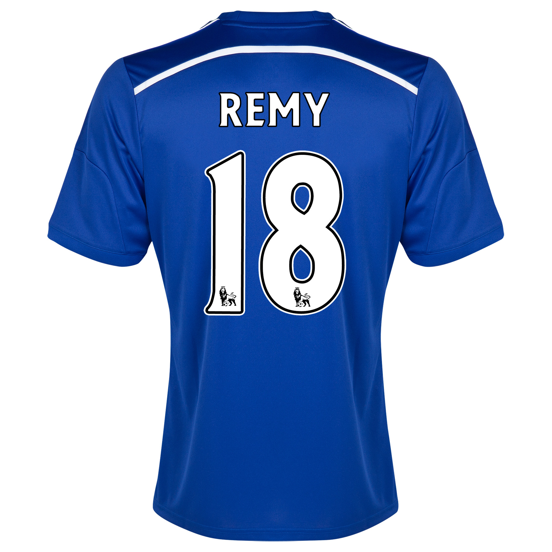 Chelsea Home Shirt 2014/15 - Outsize with Remy 18 printing