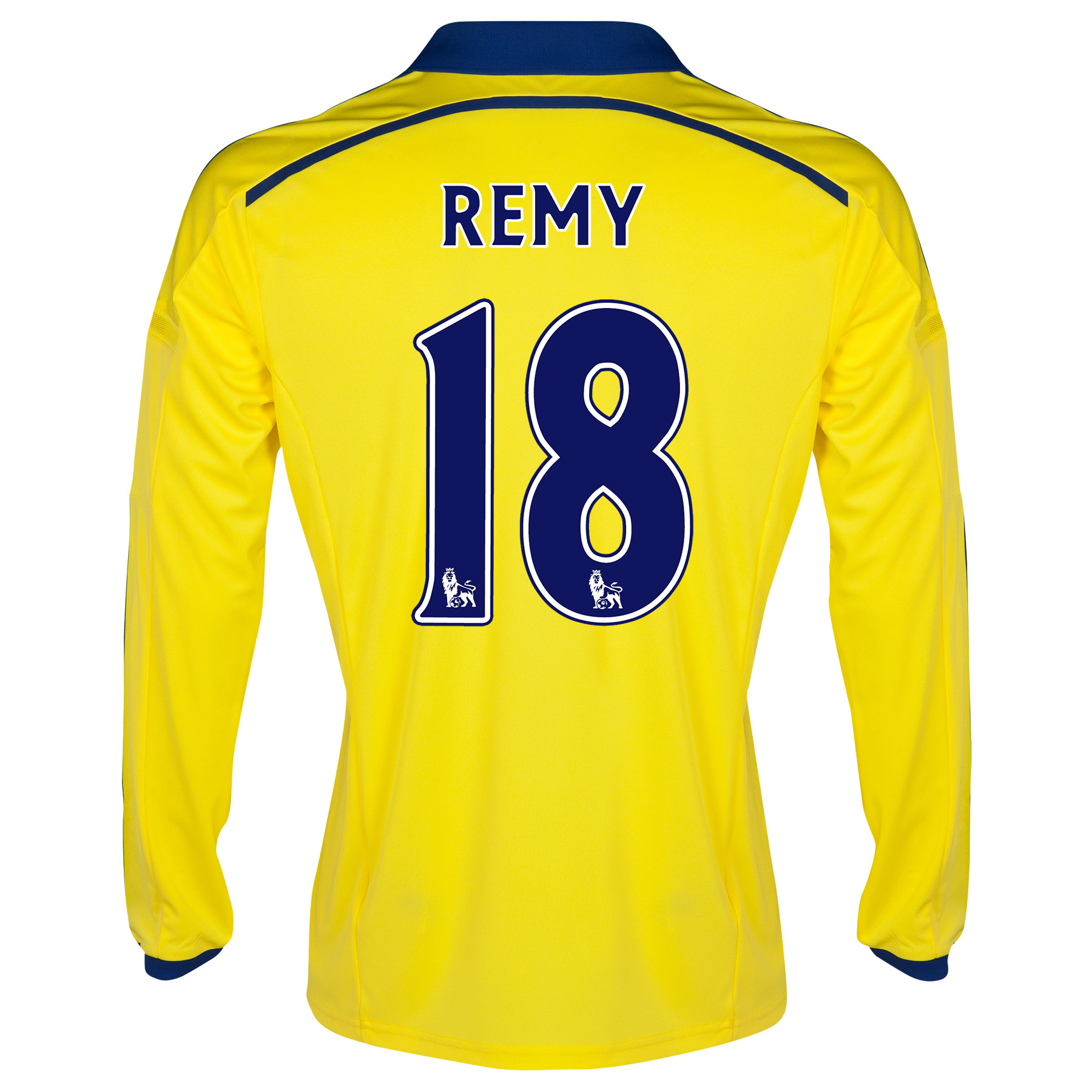 Chelsea Away Shirt 2014/15 - Long Sleeve - Kids with Remy 18 printing