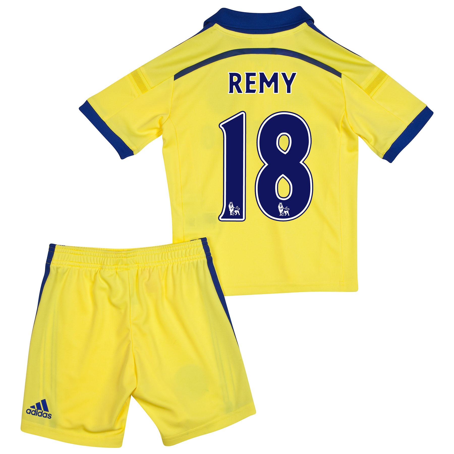 Chelsea Away Mini Kit 2014/15 with Remy 18 printing
