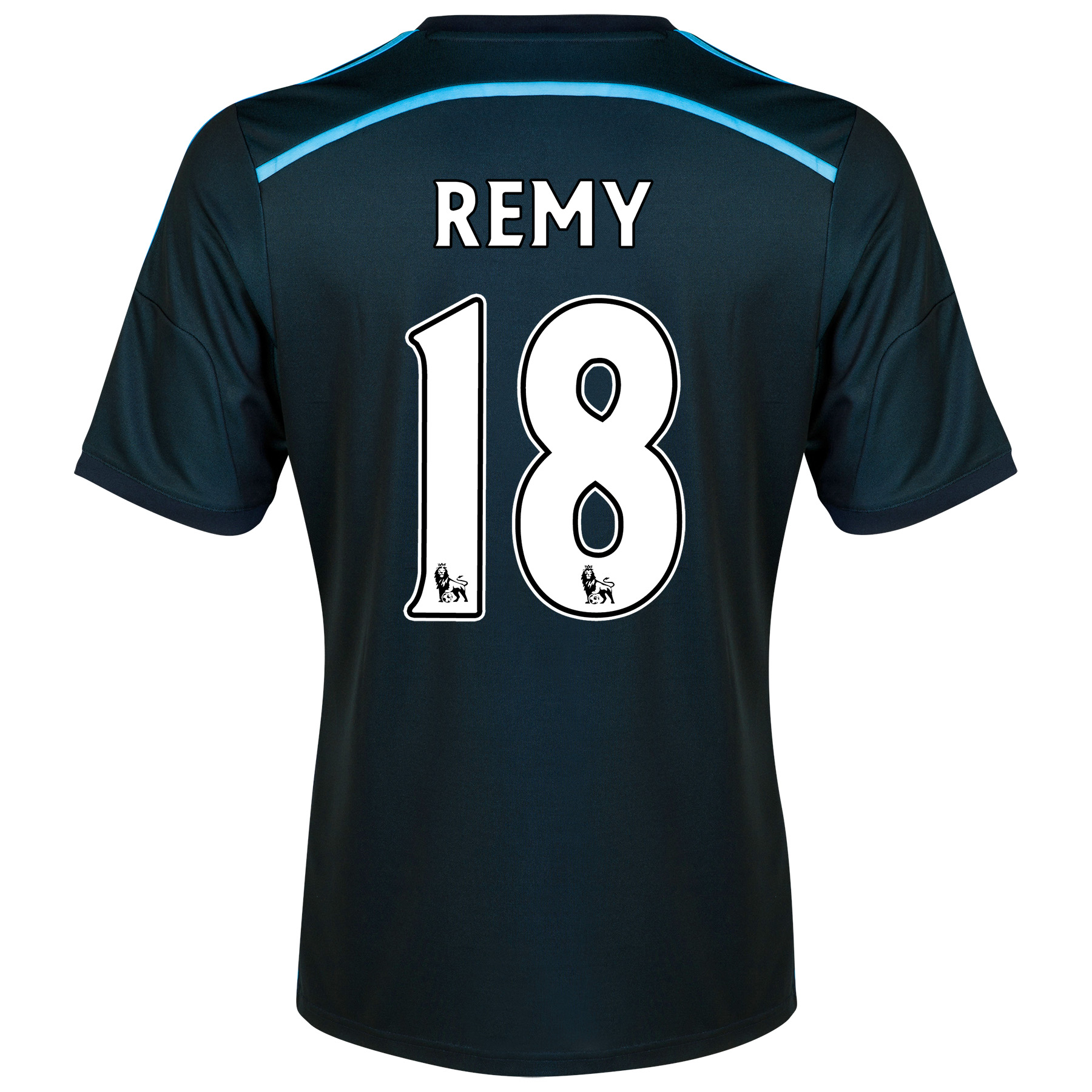 Chelsea Third Shirt 201415 with Remy 18 printing