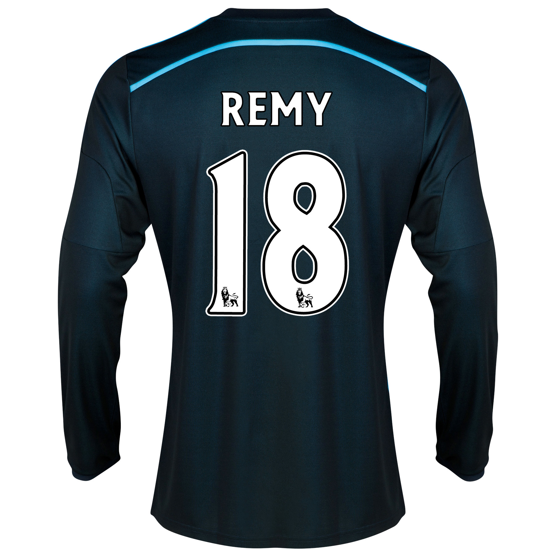 Chelsea Third Shirt 2014/15 - Long Sleeve - Kids with Remy 18 printing
