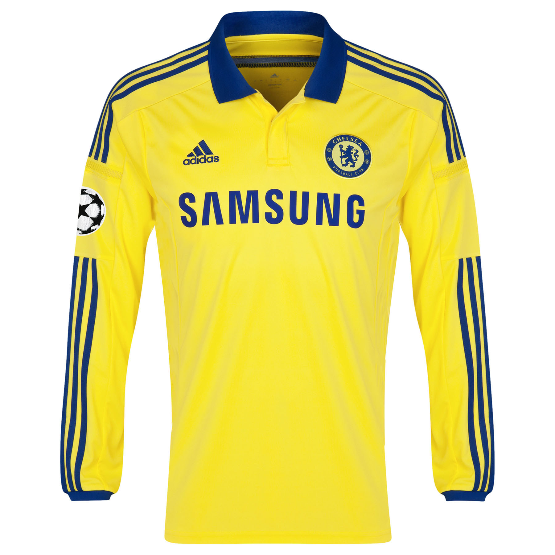 Chelsea UEFA Champions League Away Shirt 2014/15 - Long Sleeve