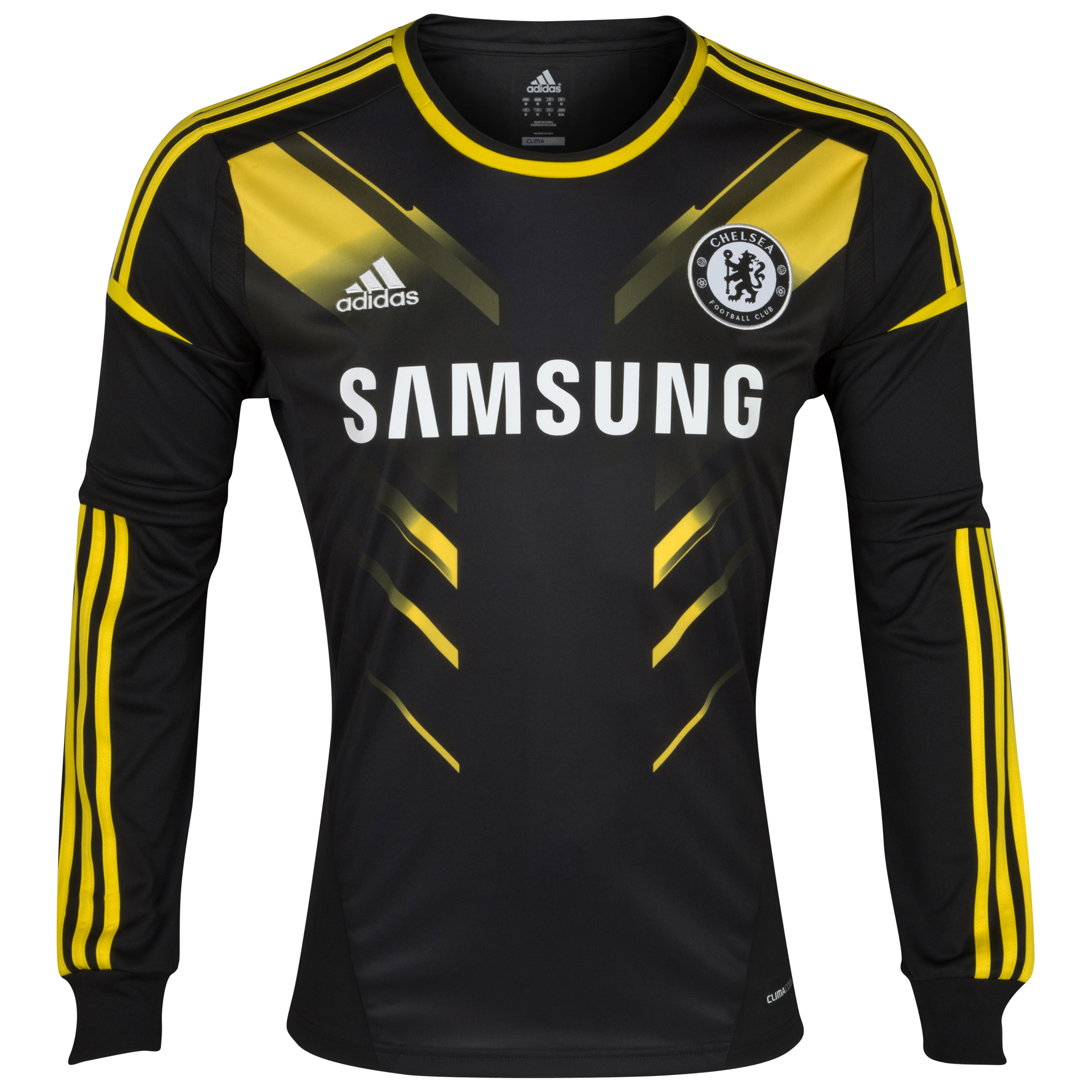 Chelsea Third Shirt 2012/13 - Long Sleeved